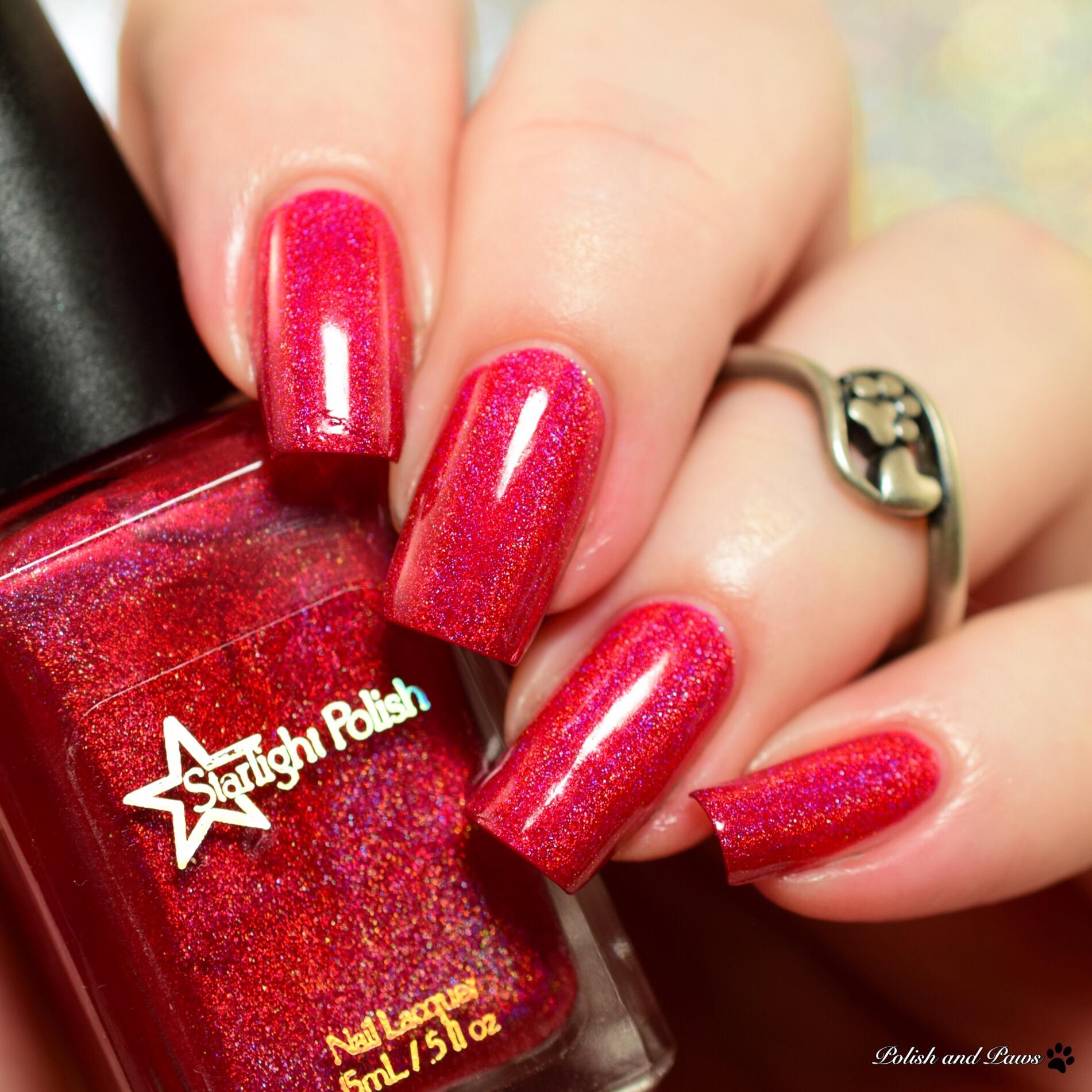 Starlight Polish Poinsettia