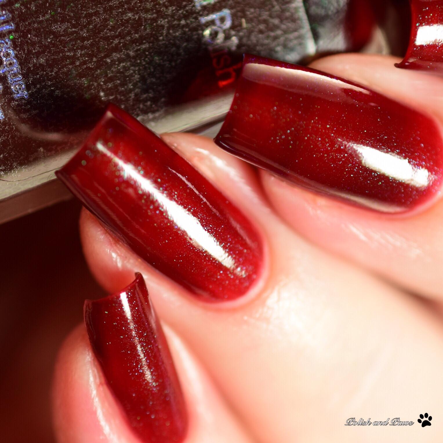 Starlight Polish Kelpie Garnet