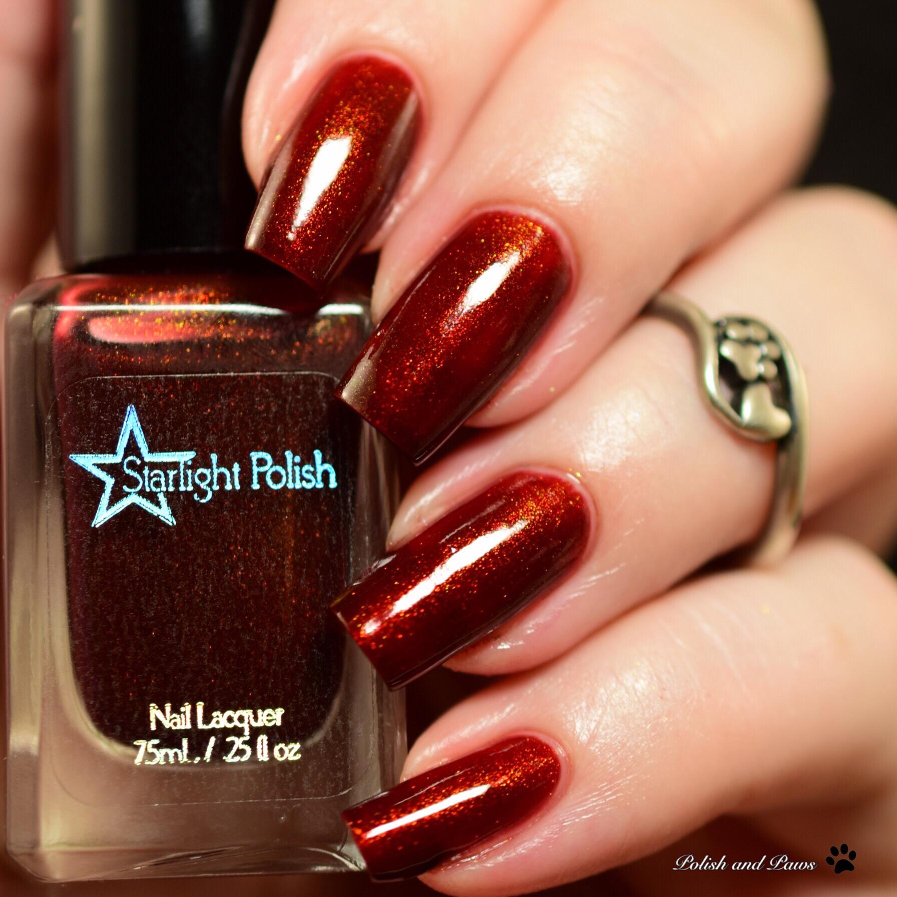 Starlight Polish Dragon Garnet