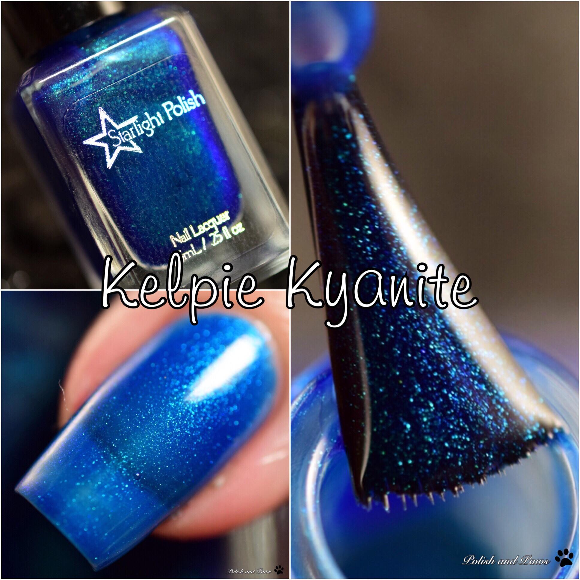 Starlight Polish Kelpie Kyanite
