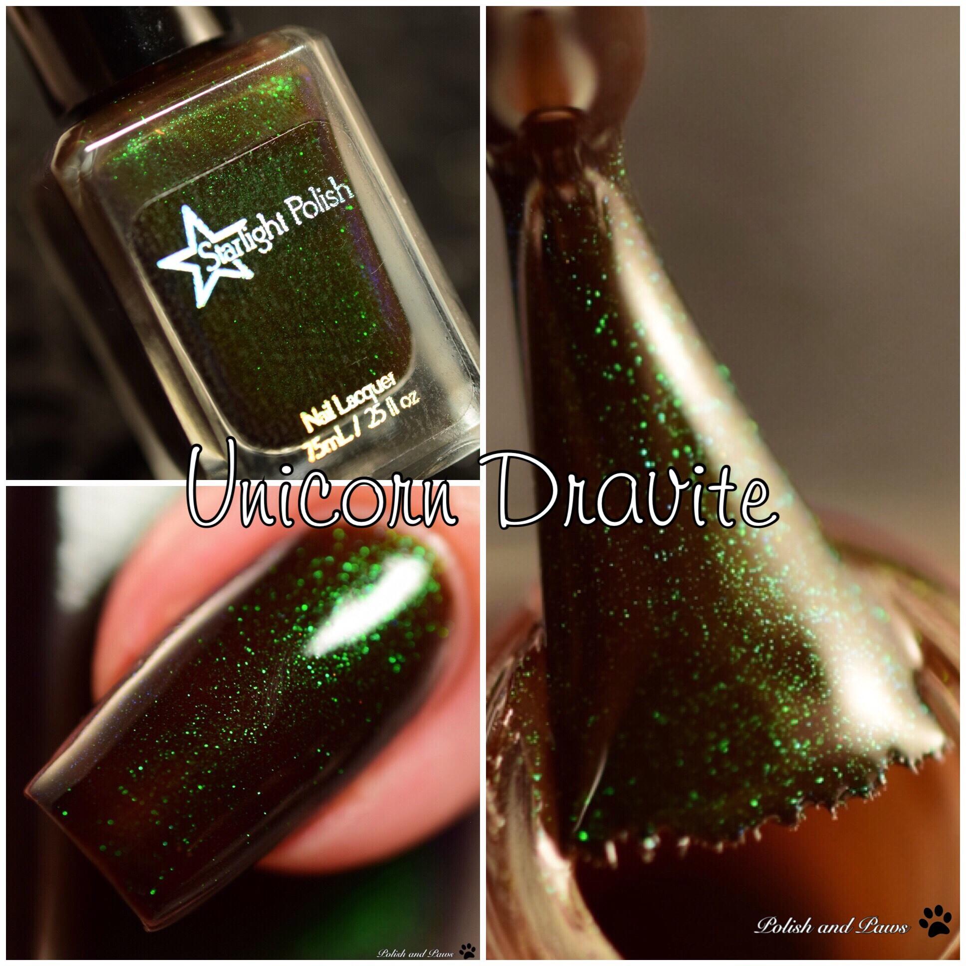 Starlight Polish Unicorn Dravite