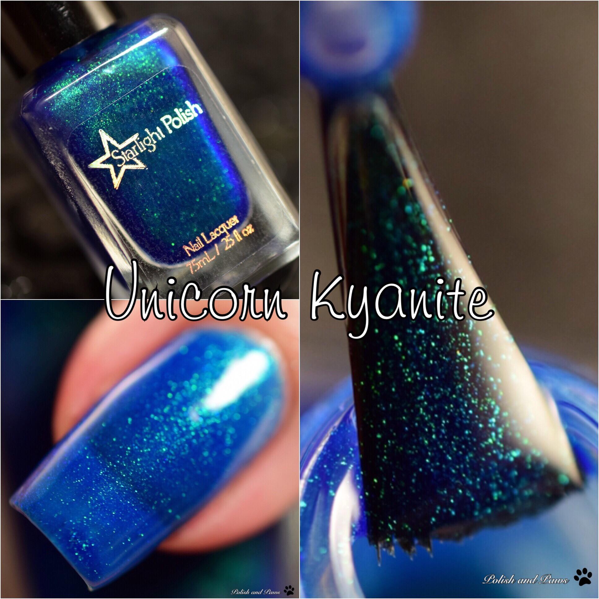 Starlight Polish Unicorn Kyanite