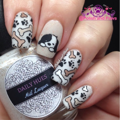 Nail Art Born Pretty Store Plate 025 Polish And Paws