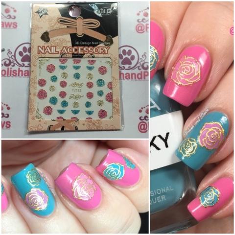 Nail art born pretty store 3d nail stickers polish and paws nail art born pretty store 3d nail stickers prinsesfo Gallery