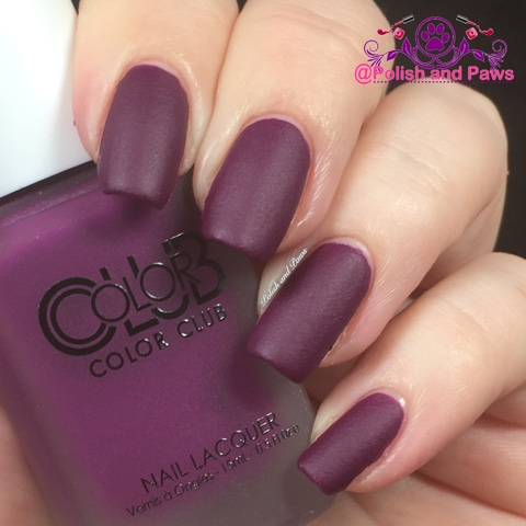 Color Club Matte Rouge Collection | Polish and Paws
