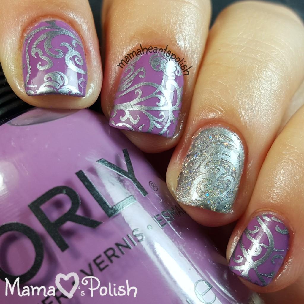 Guest Post: Nail Art by Mama Hearts Polish | Polish and Paws