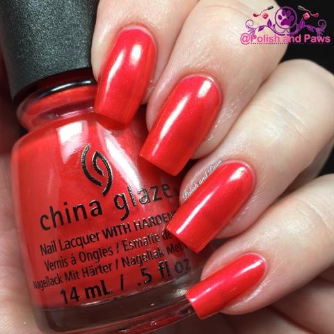 China Glaze Cheers Collection Holiday 2015 Polish And Paws