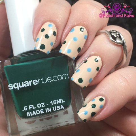 Nail Art Square Hue Hike Banff Adventure Collection Polish And Paws