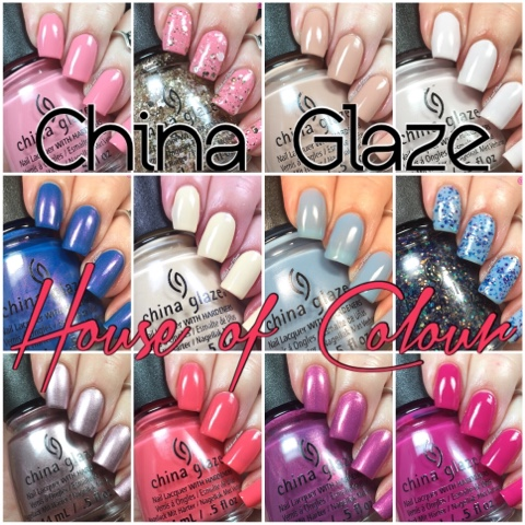 So Now That You Know Why Iu0027m Late Getting Out The New China Glaze House Of  Colour Collection, Letu0027s Not Waste Any More Time And Admire These New Colors !