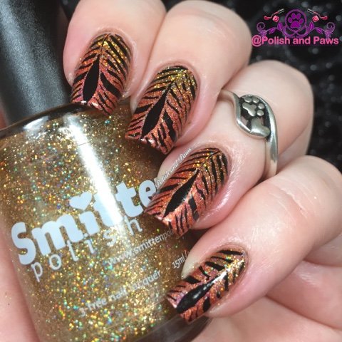 Nail Art Challenge January Clairestelle8jan Polish