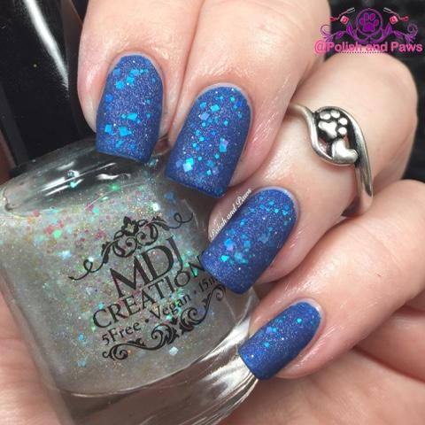 MDJ Creations Mermaid Tears Matte top coat