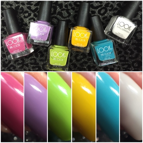 Look Nail Color Spring 2016 Swatch And Review