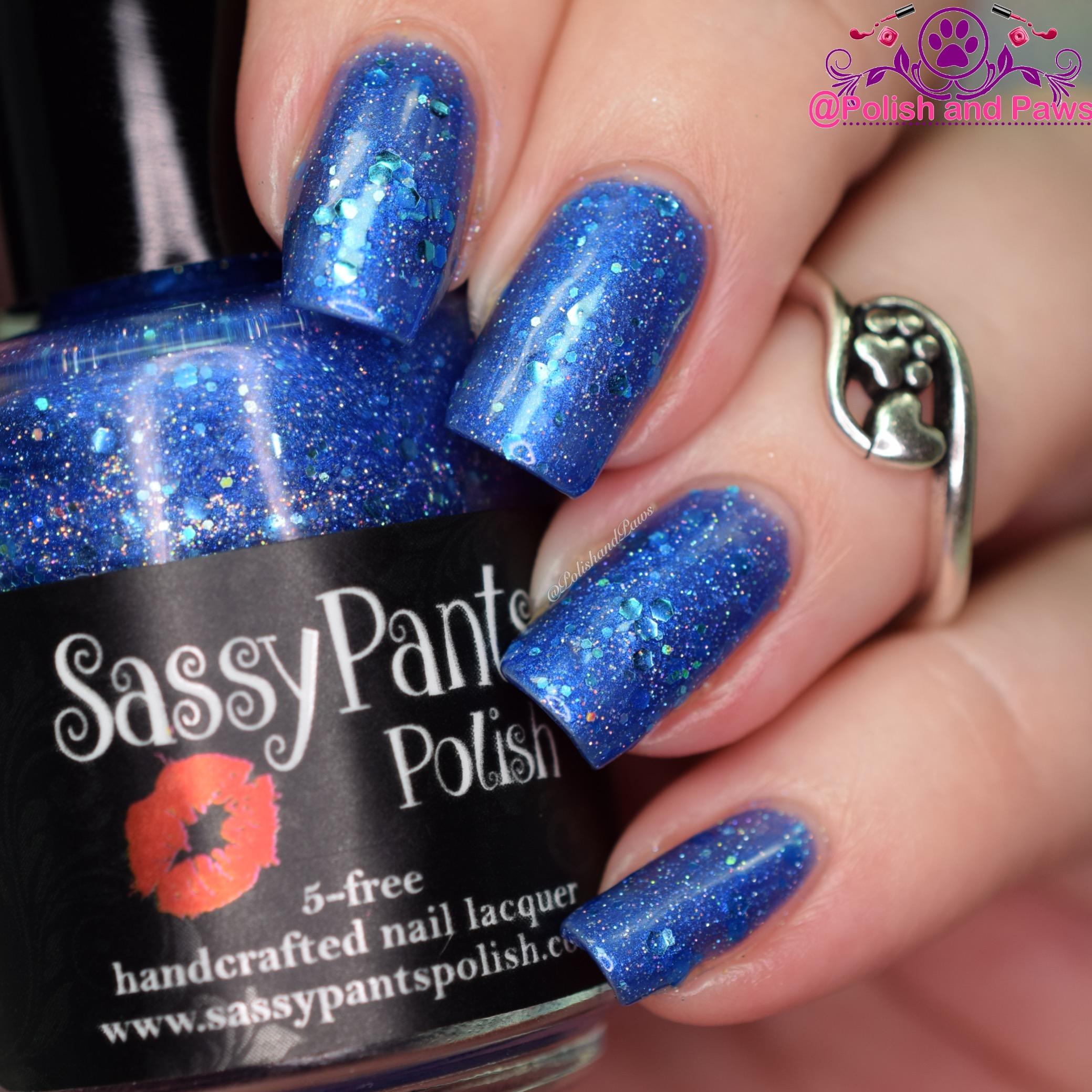Sassy Pants Polish Blueberry Balls