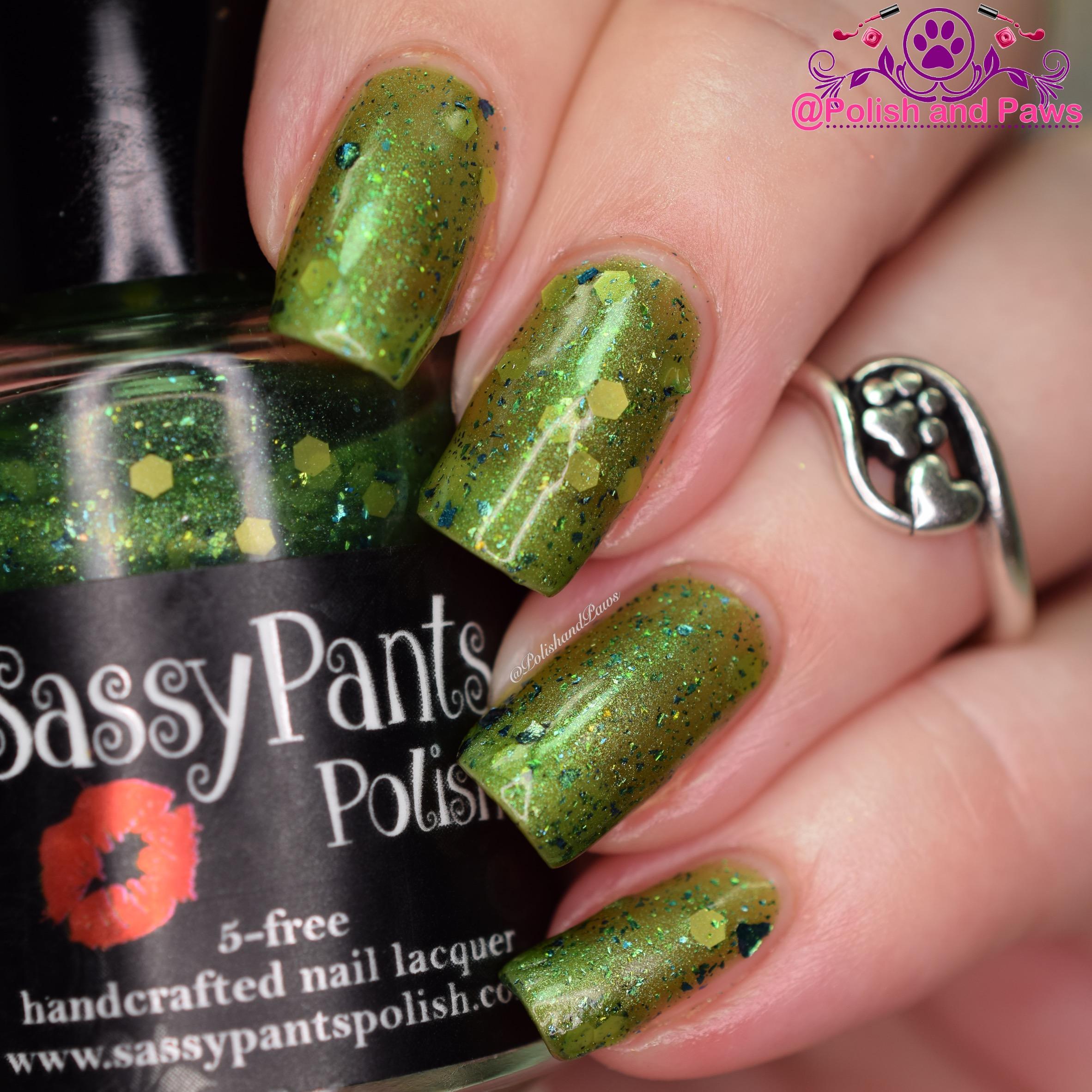 Sassy Pants Polish One Bad Apple