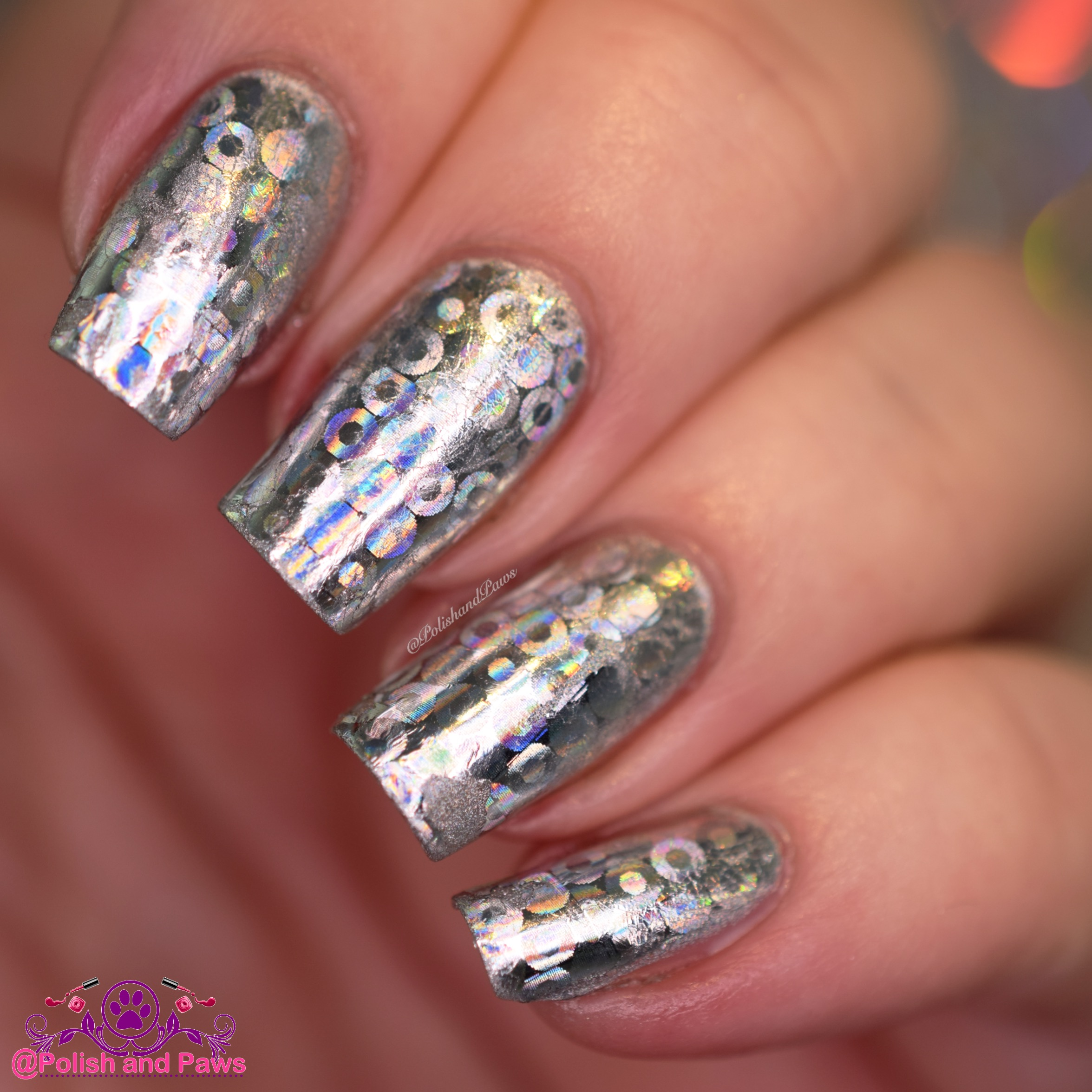 Born Pretty Store ~ Nail Foil Review   Polish and Paws