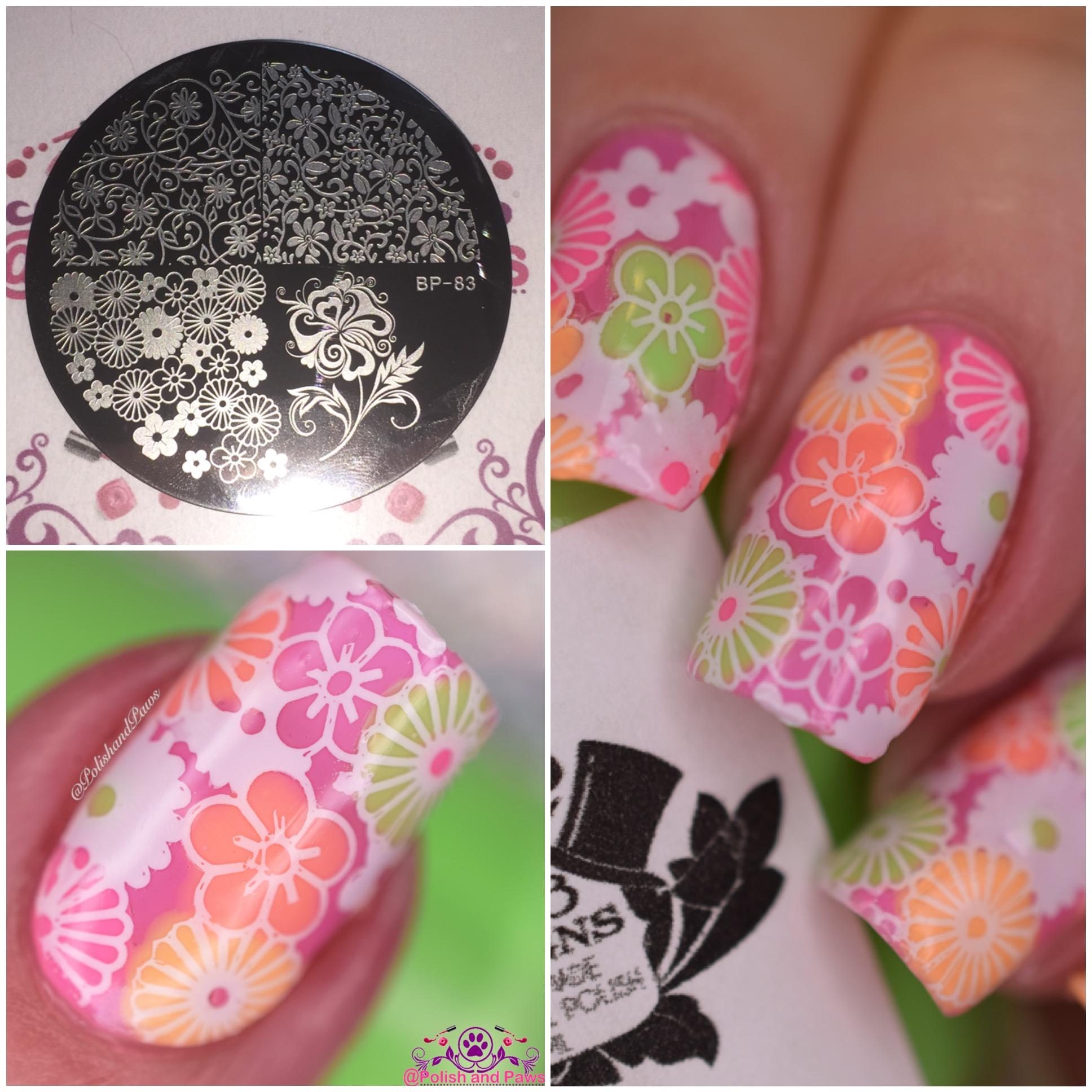 Geometric Reverse Stamping Nail Art Born Pretty Review: Nail Art ~ Born Pretty Store BP-83