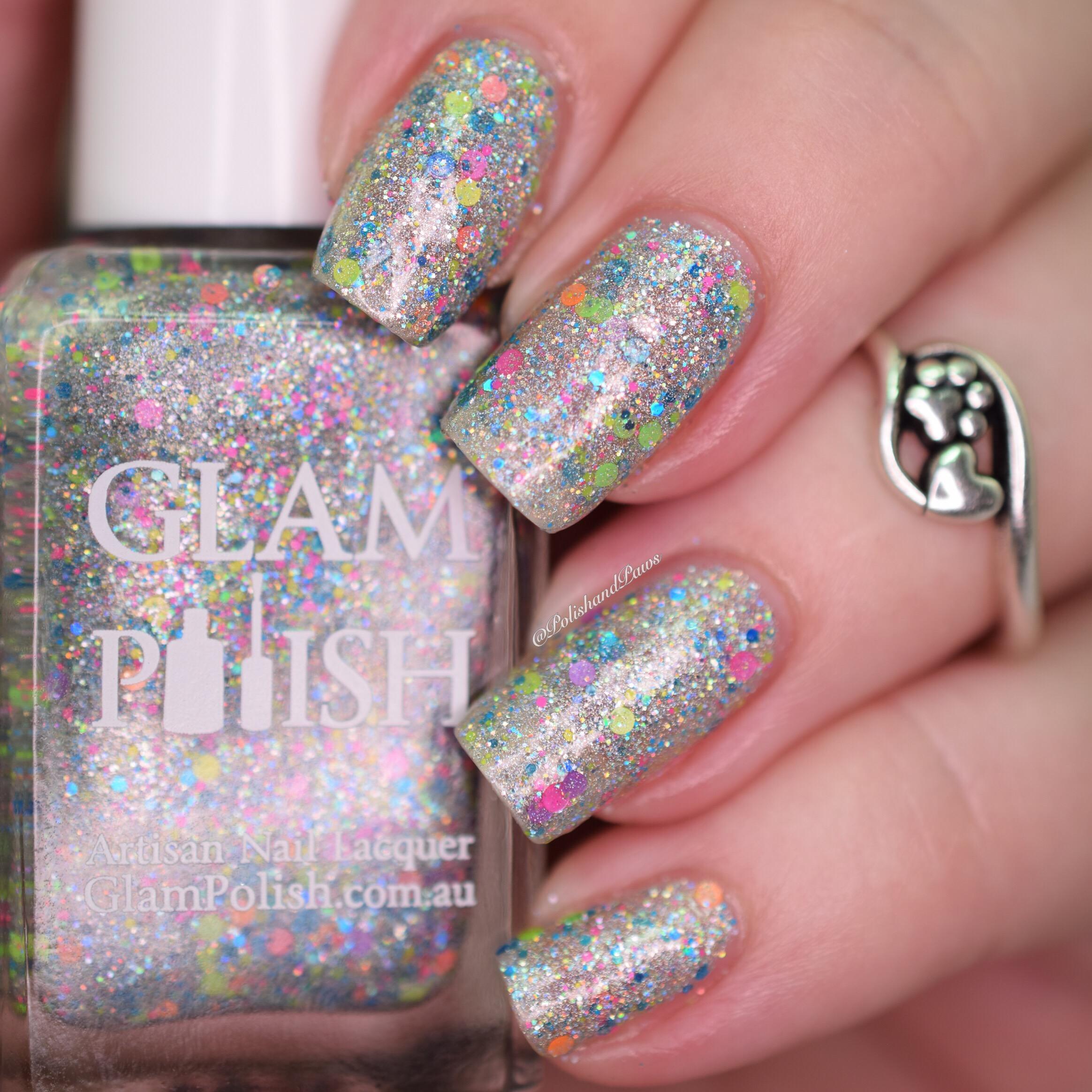 Glam Polish Sonic Rainboom