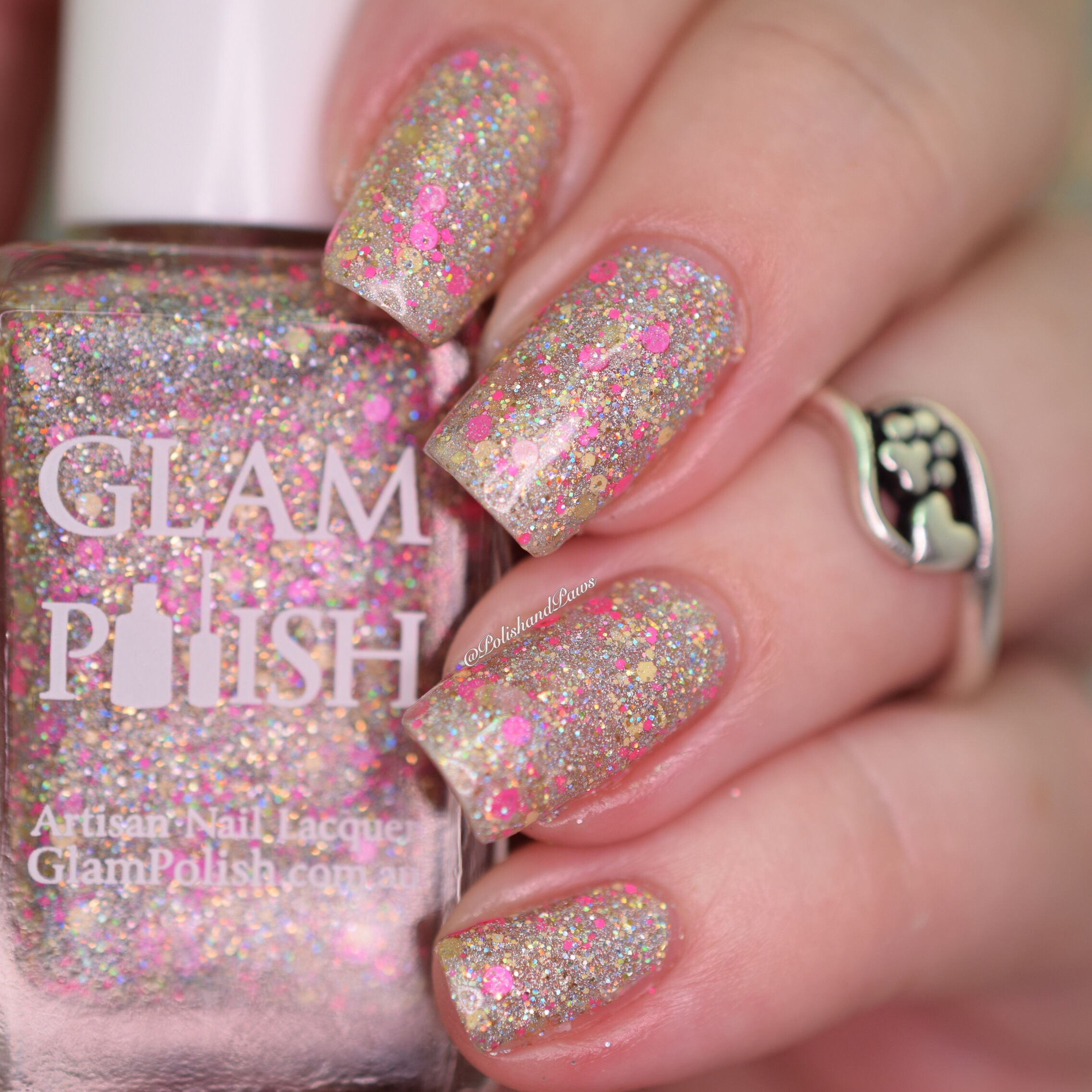 Glam Polish Keep Calm and Flutter On