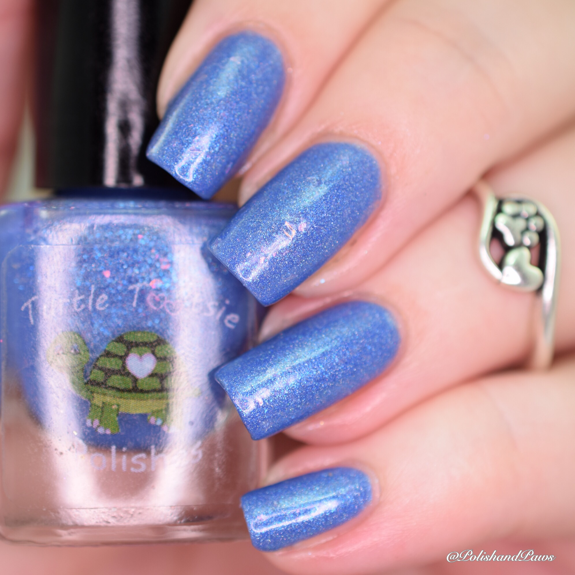 Turtle Tootsie Polish Electric Cotton Candy