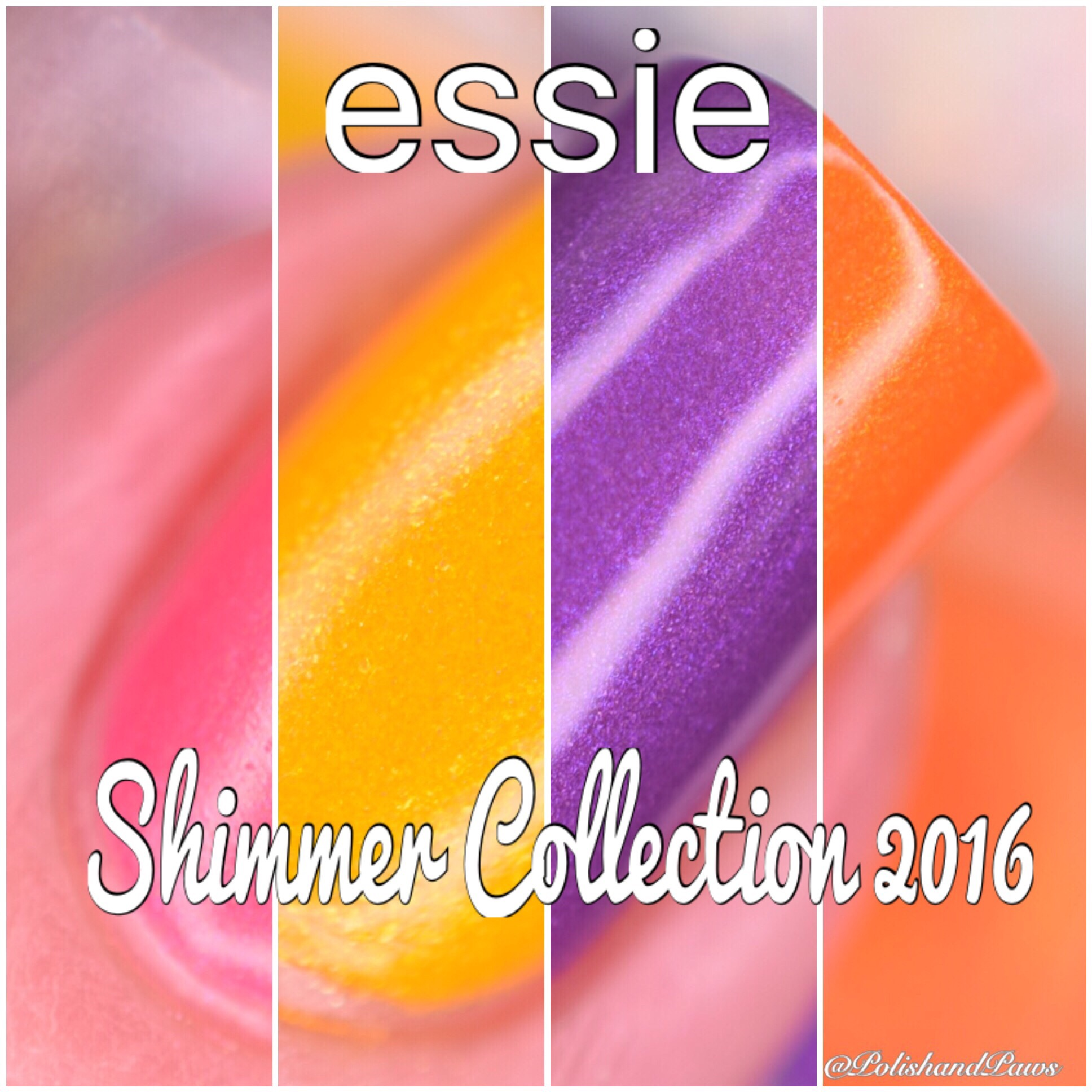 Essie Shimmer Collection 2016