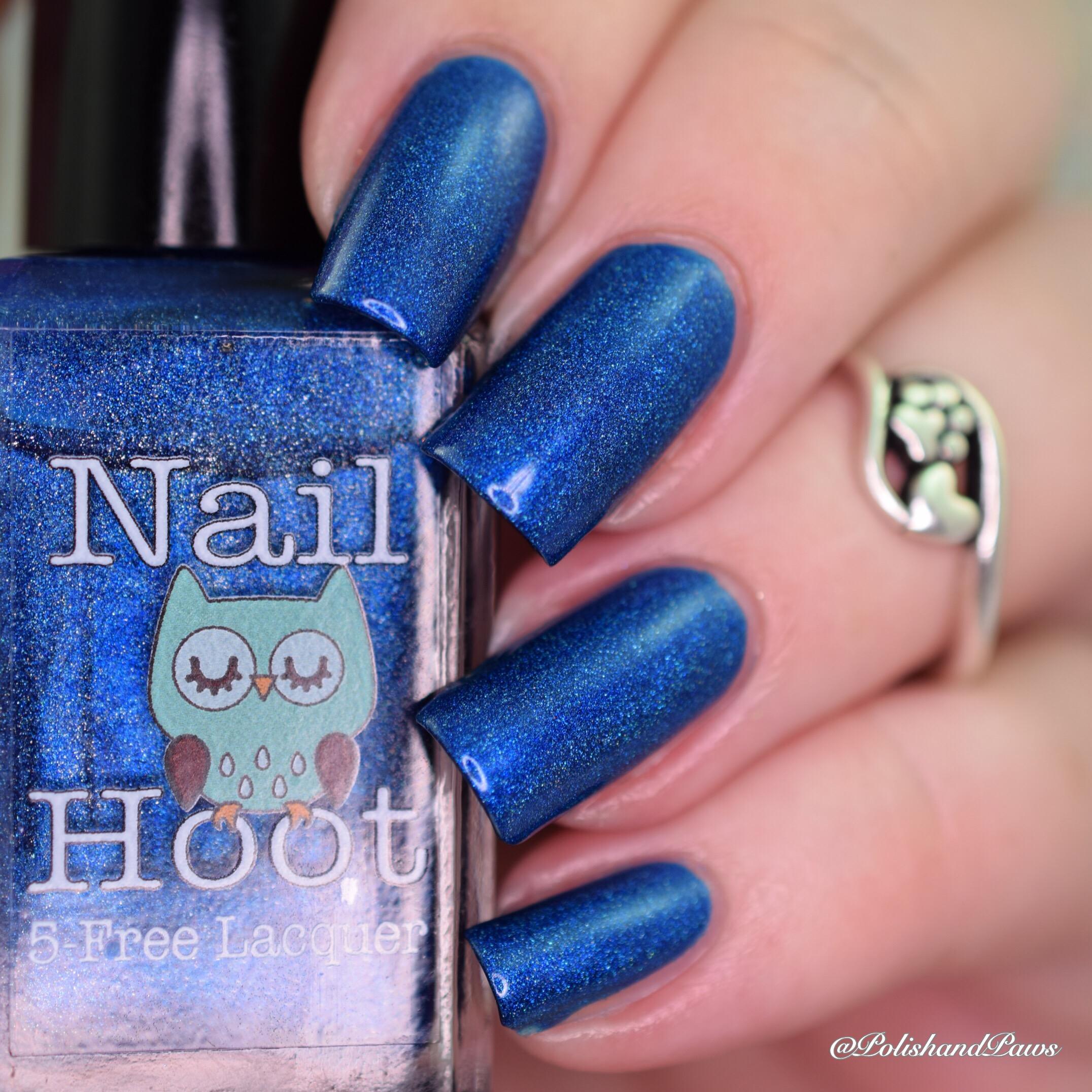 Nail Hoot September Birthstone Sapphire