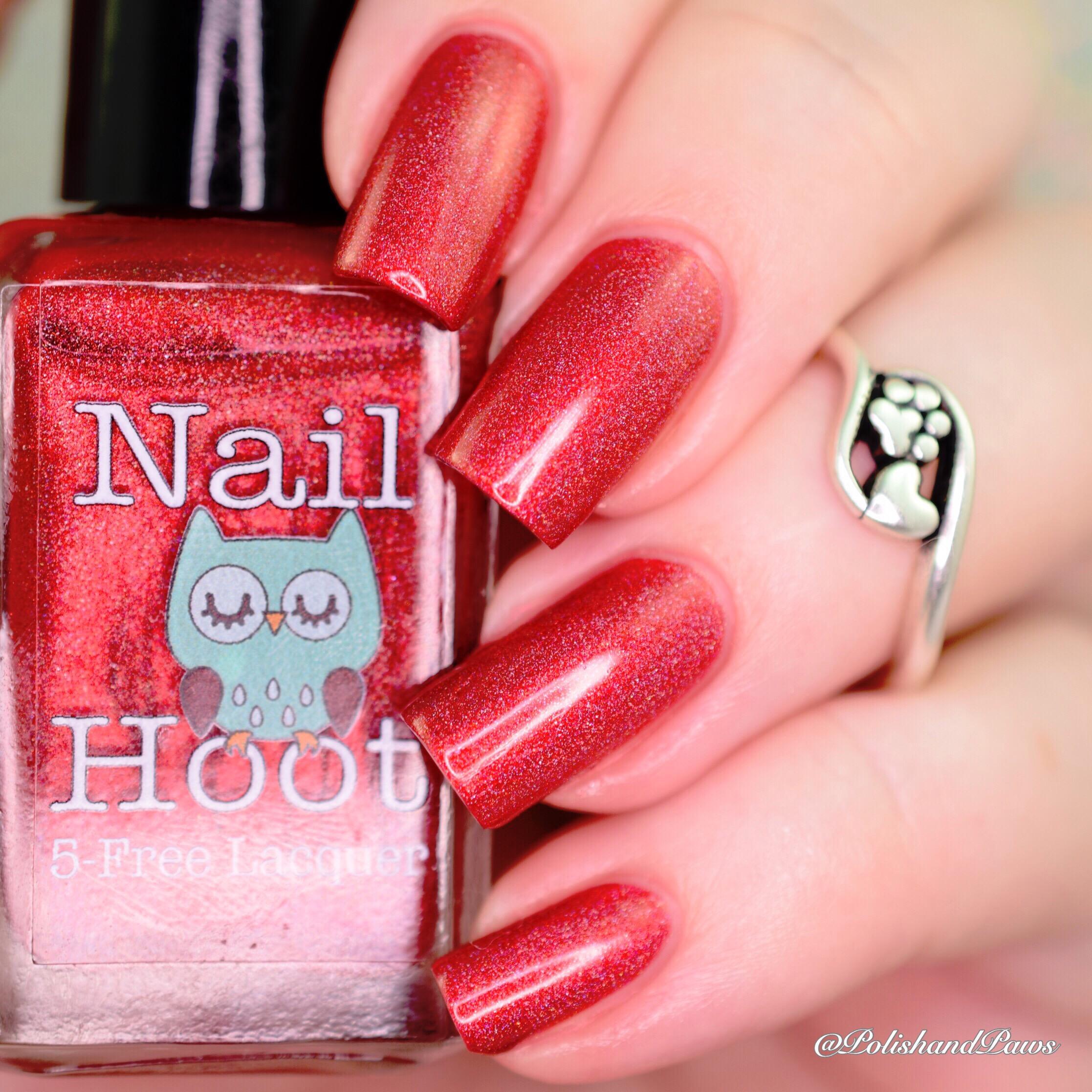Nail Hoot July Birthstone Ruby