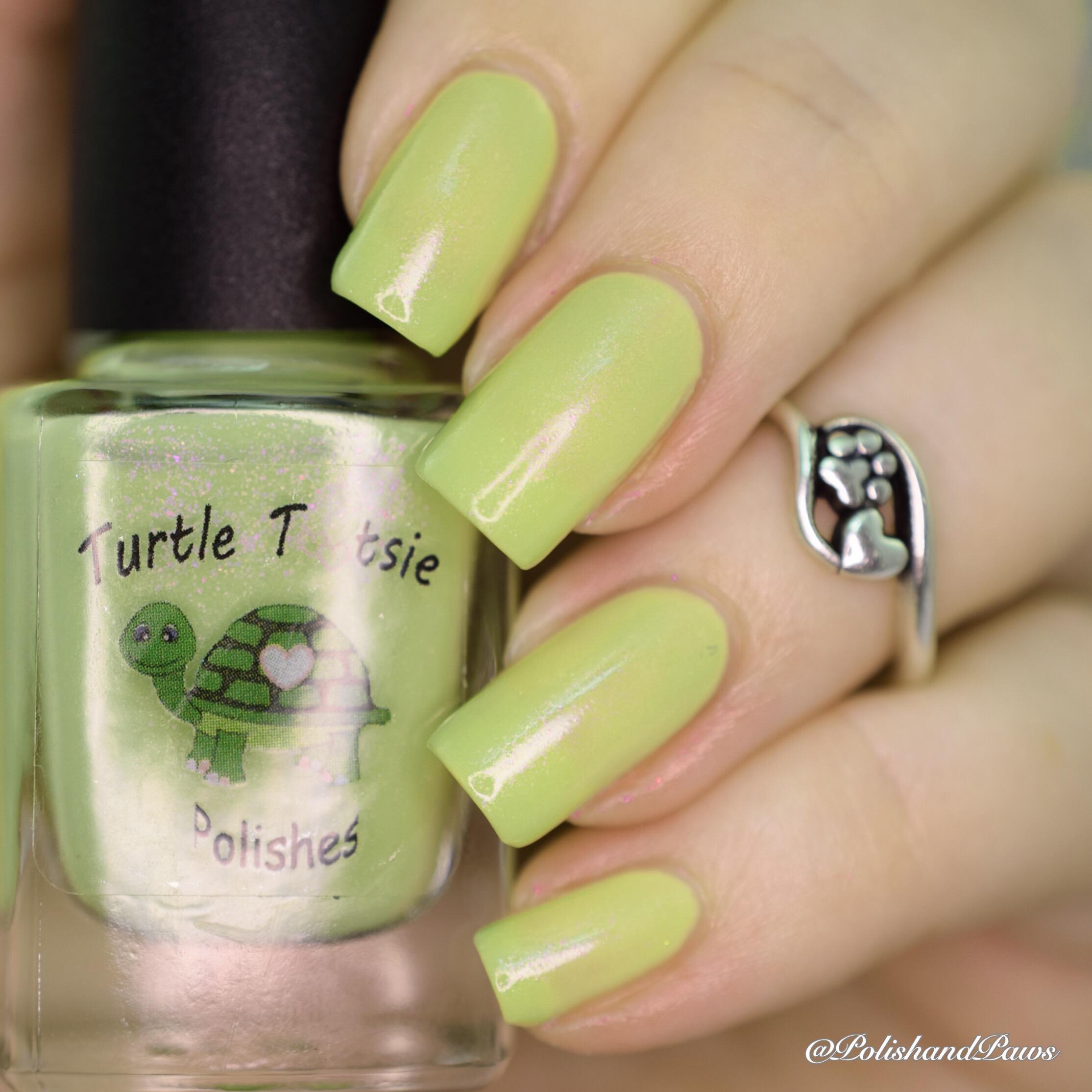 Turtle Tootsie Polishes The Elven Grove