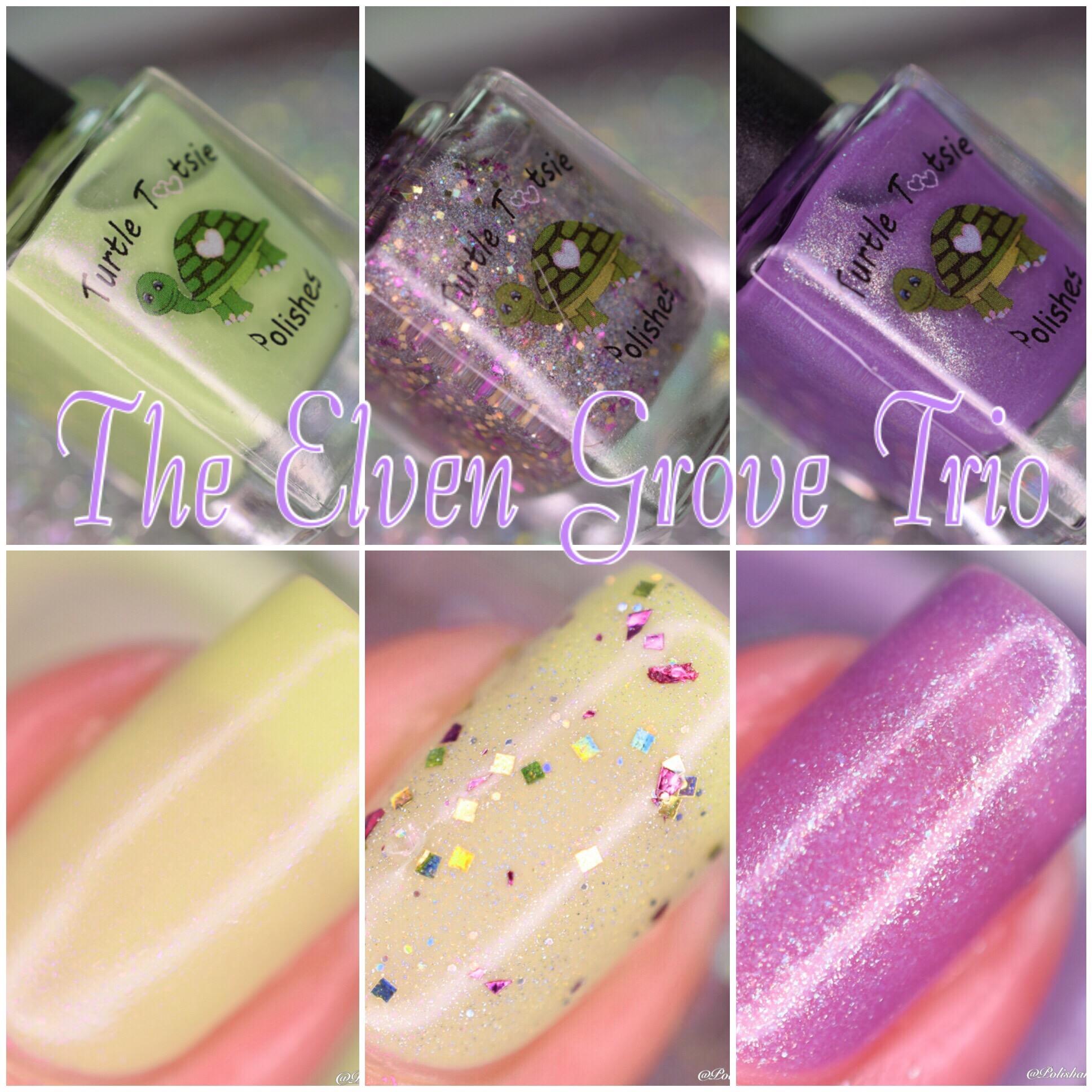 Turtle Tootsie Polishes The Elven Grove Trio