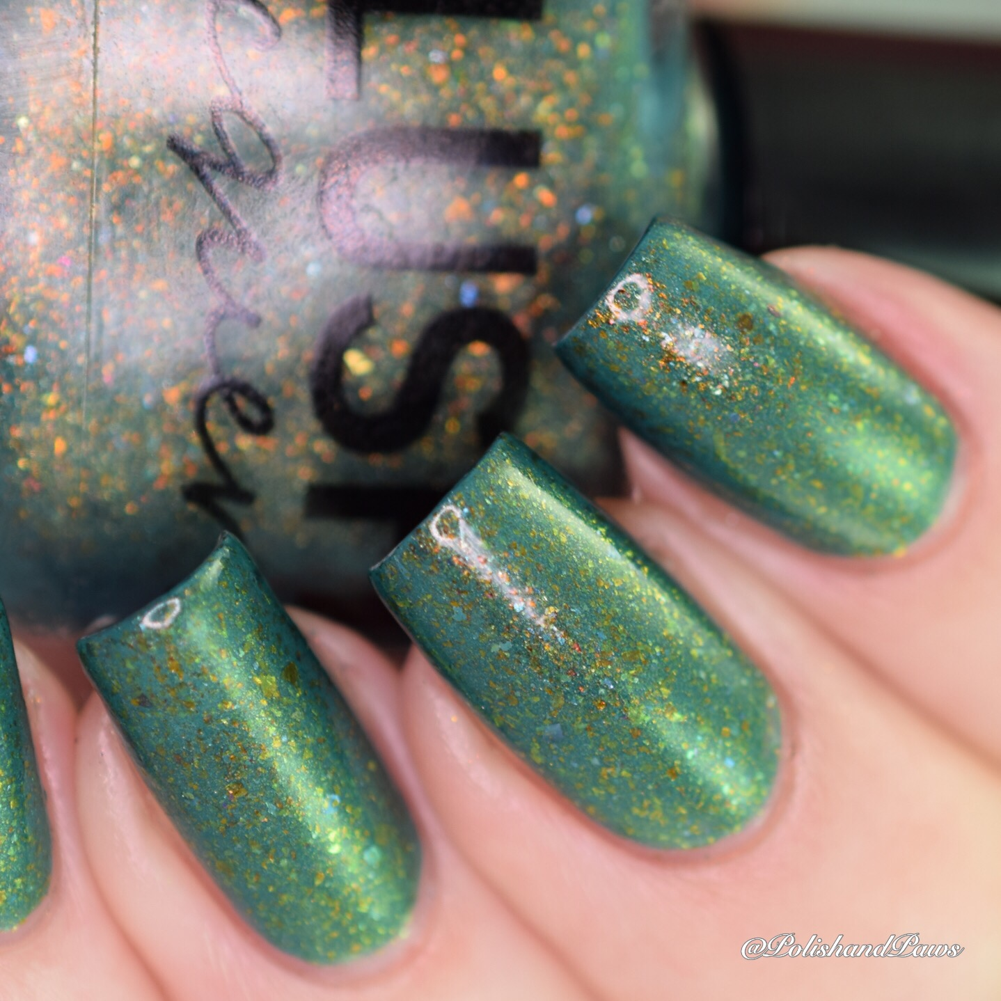 Blush Lacquers Behind the Curtains Shadow ~ August COTM | Polish and ...