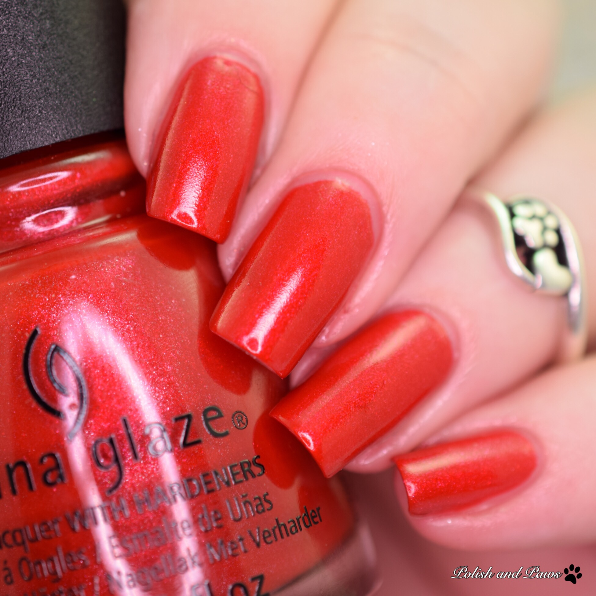 China Glaze Ya'll Red-y for This?