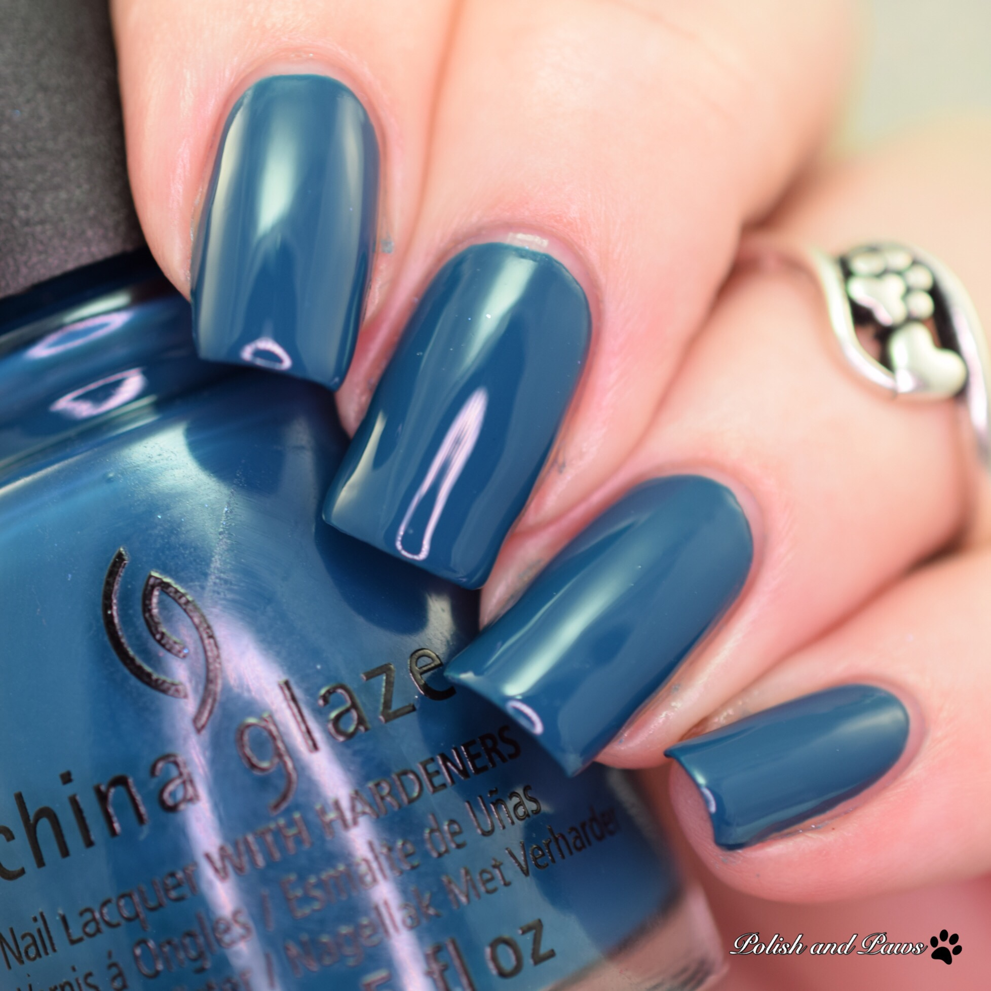 China Glaze Jagged Little Teal