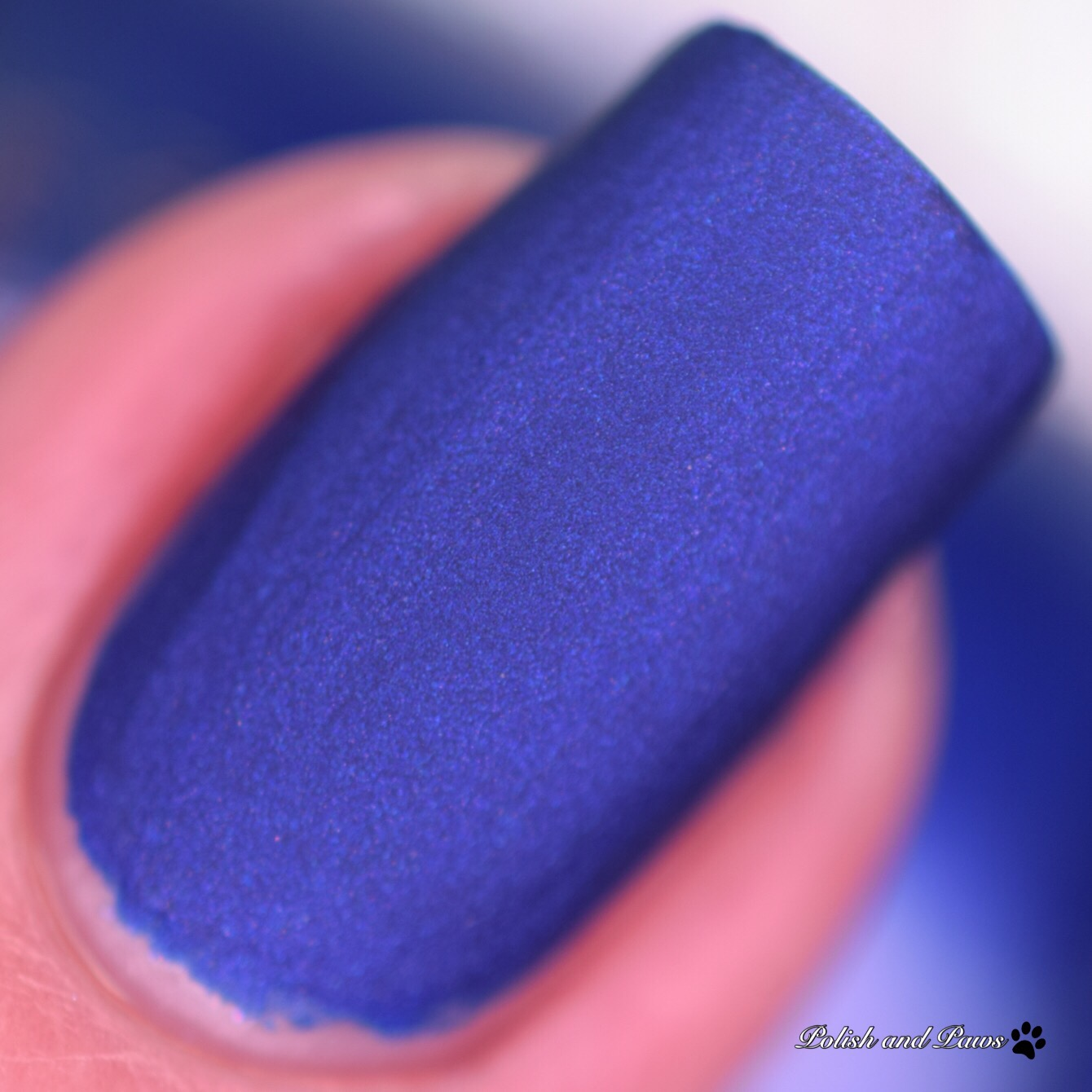 China Glaze Combat Blue-ts