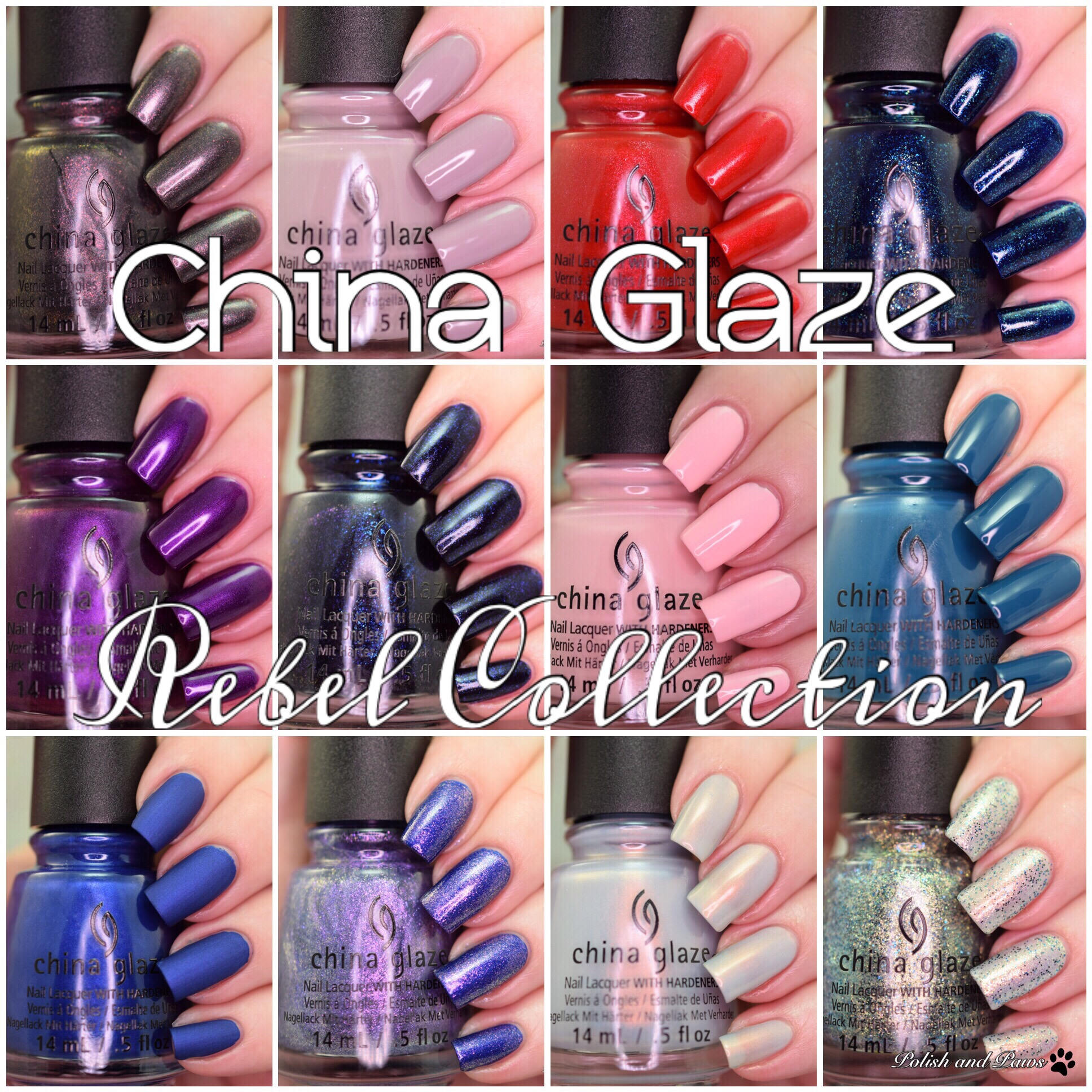 China Glaze Rebel Collection
