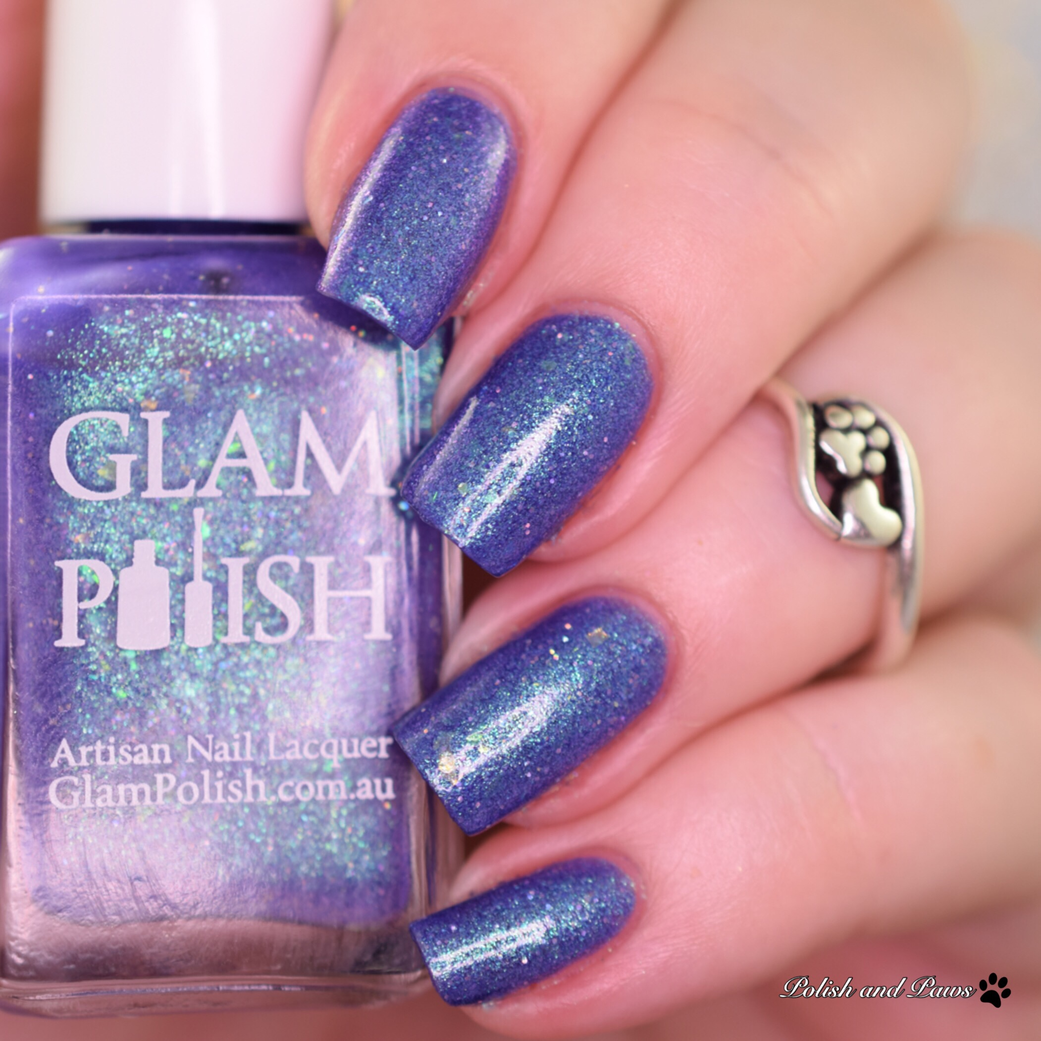 Glam Polish The Ghost Next Door