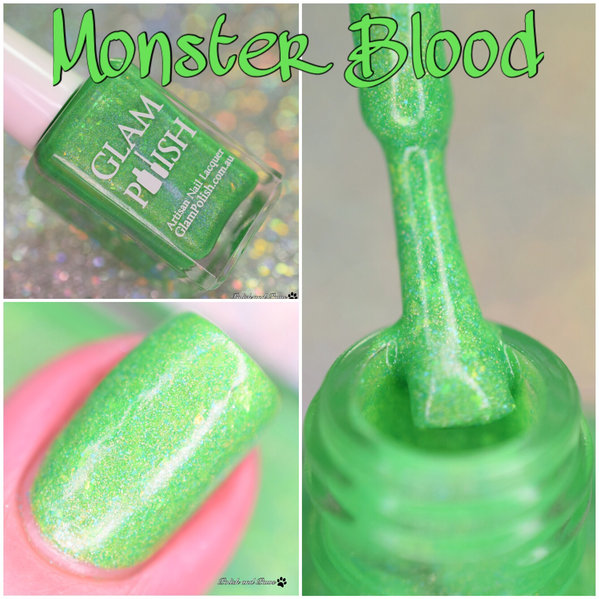 Glam Polish Monster Blood