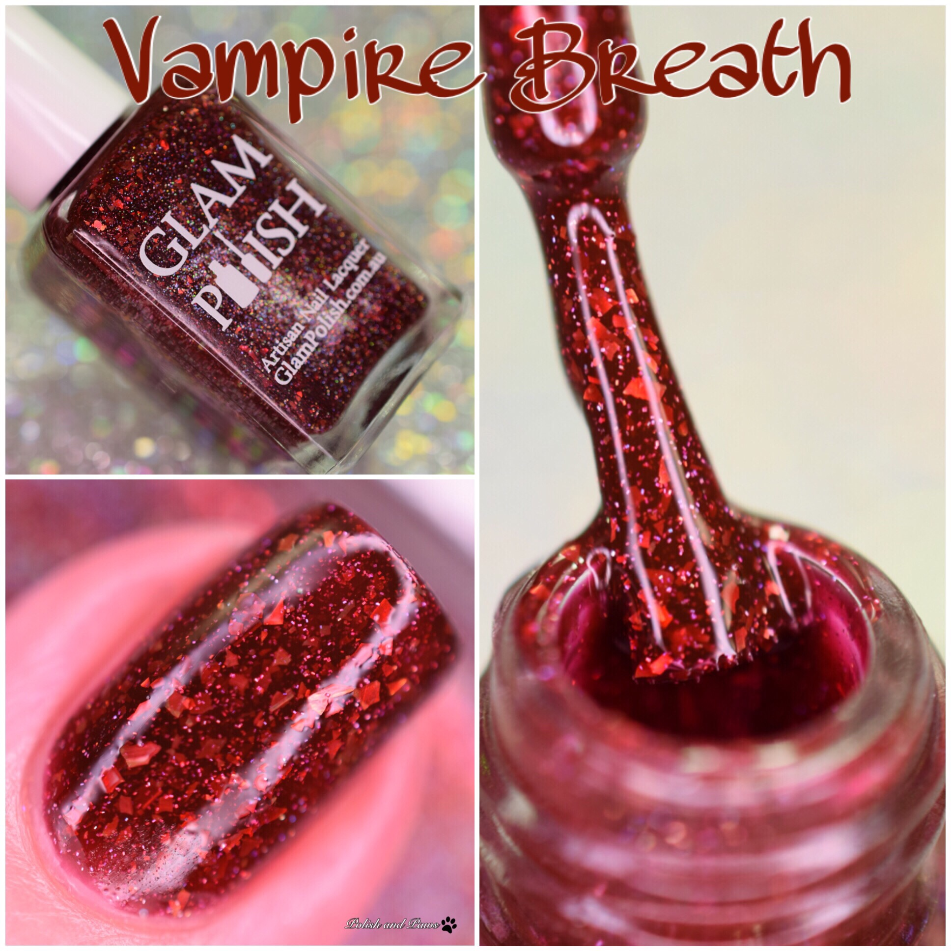 Glam Polish Vampire Breath