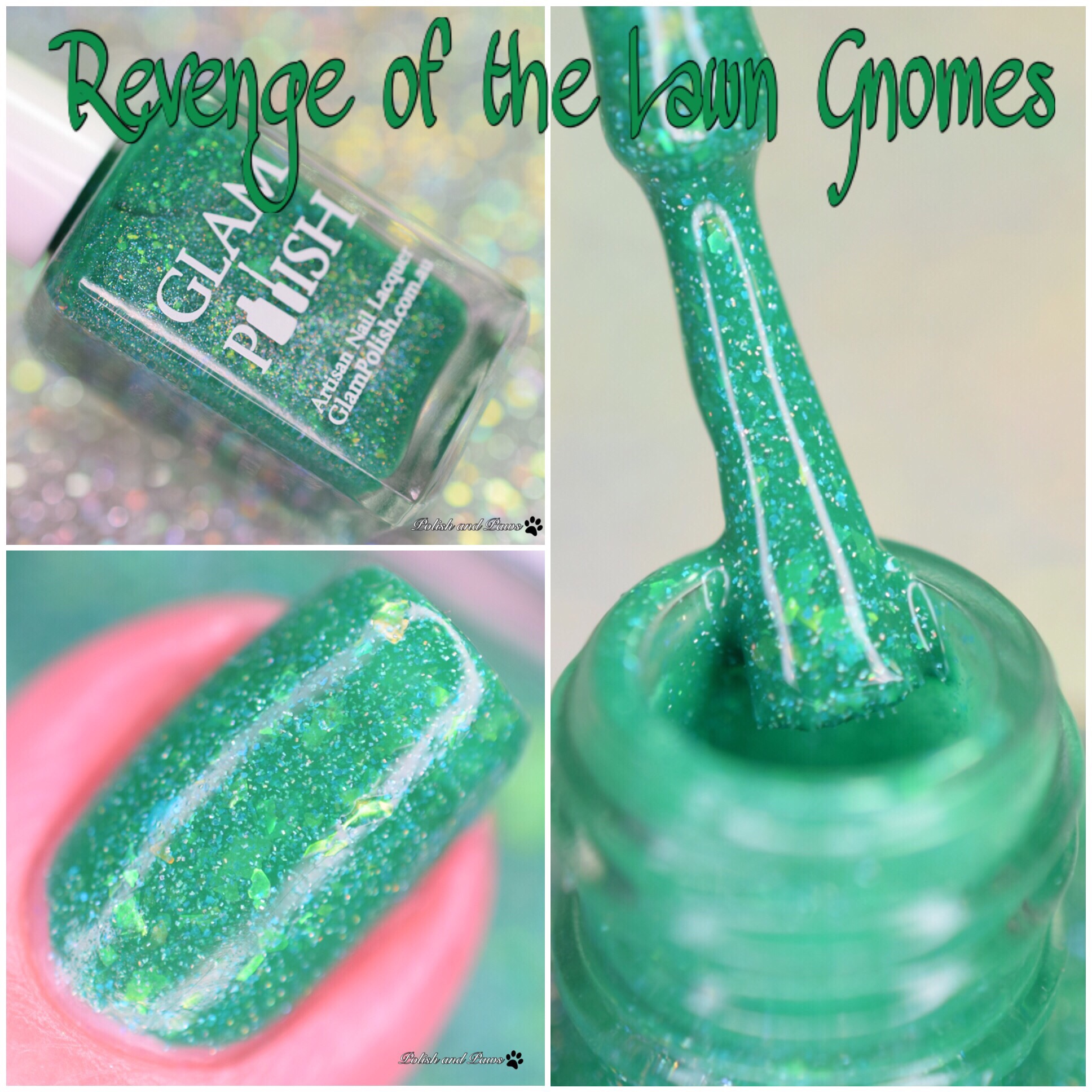 Glam Polish Revenge of the  Lawn Gnomes