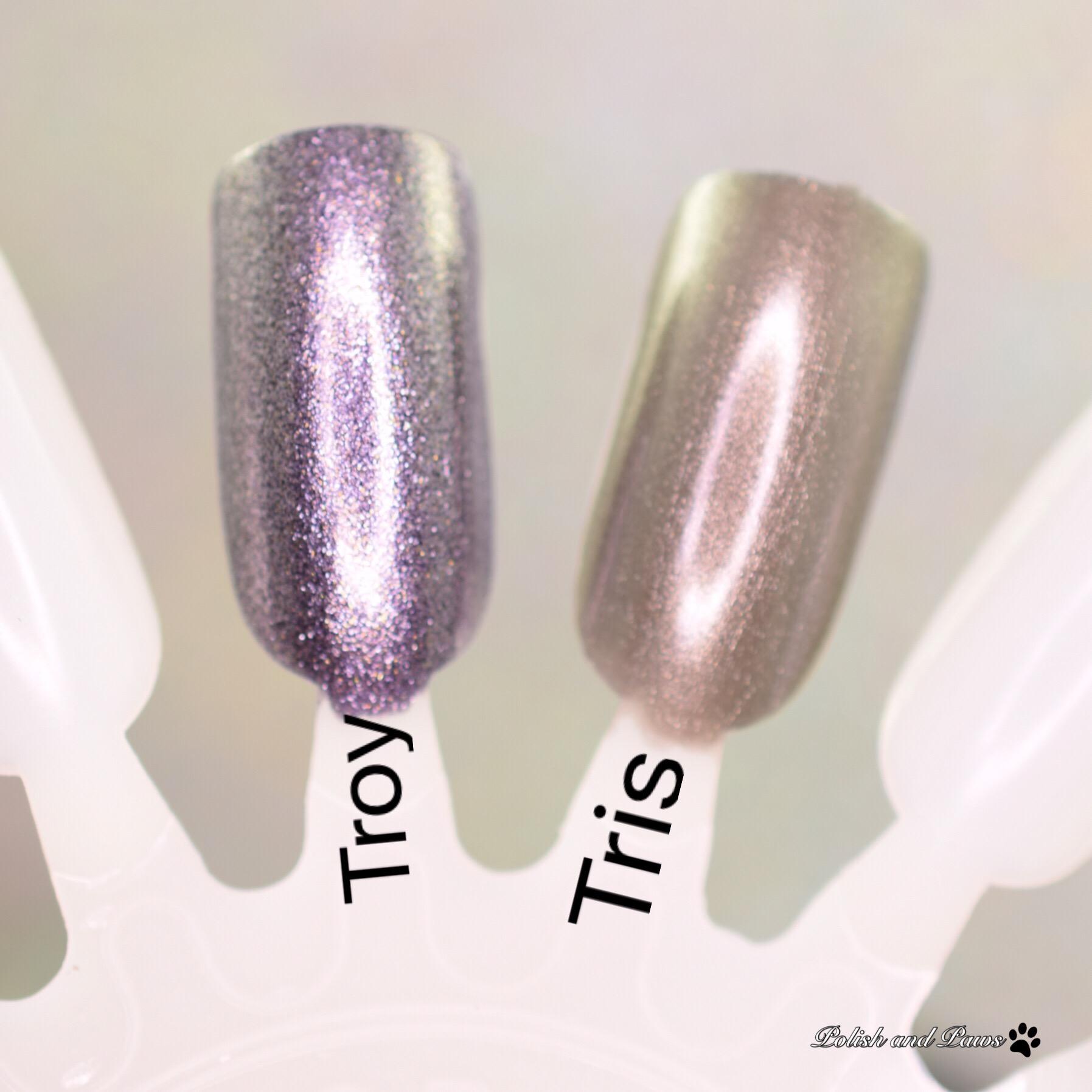 Zoya Troy vs Zoya Tris