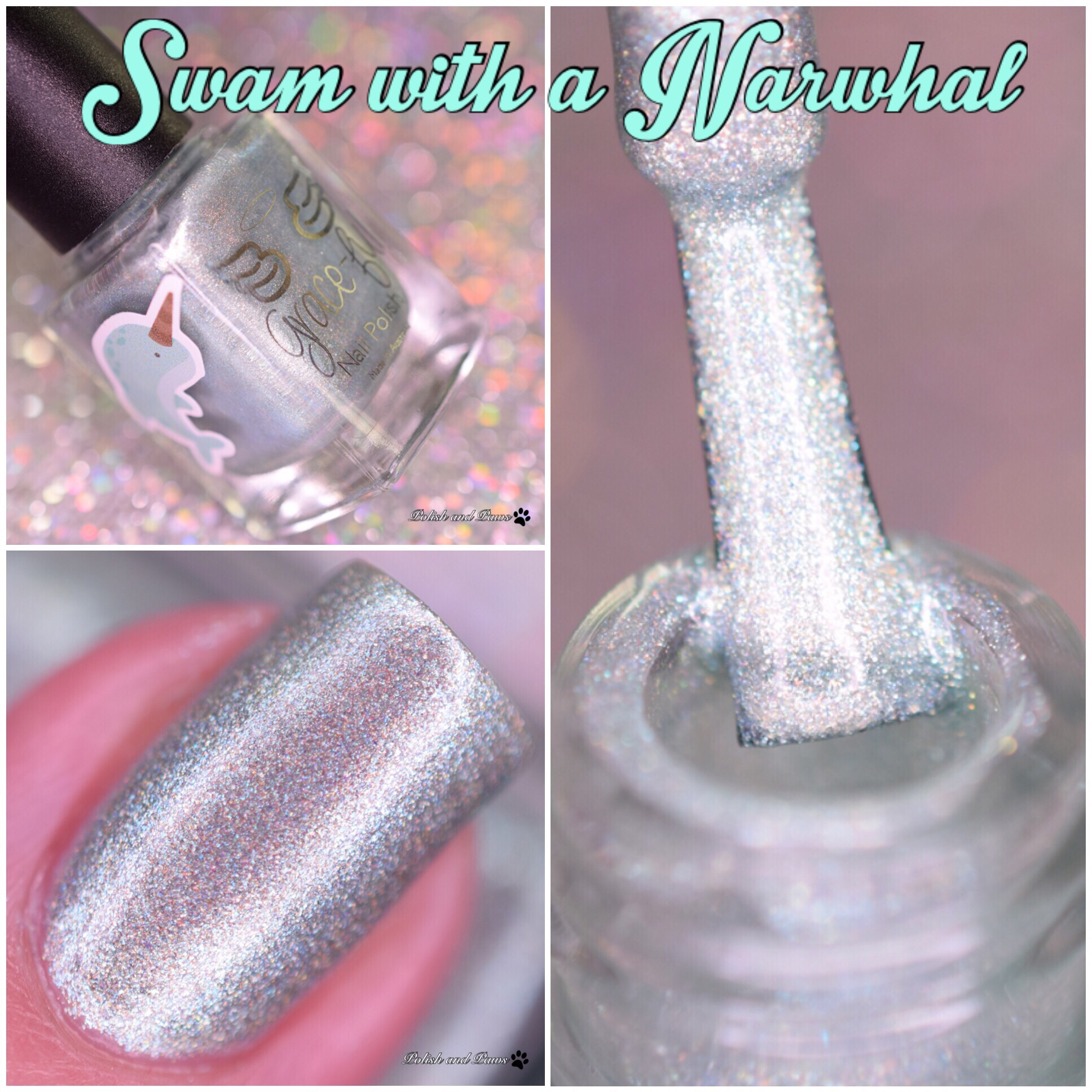 Grace-full Nail Polish Swam with a Narwhal