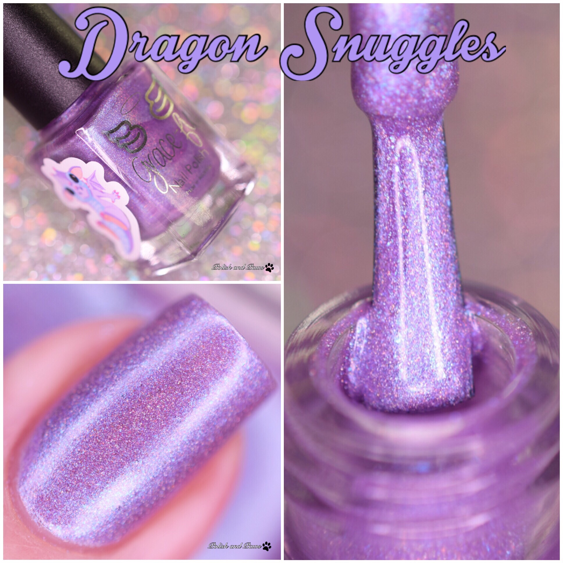 Grace-full Nail Polish Dragon Snuggles