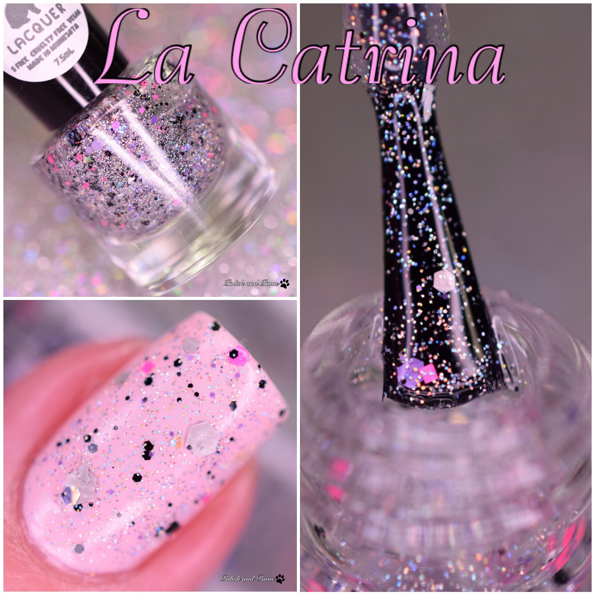 Leesha's Lacquer La Catrina