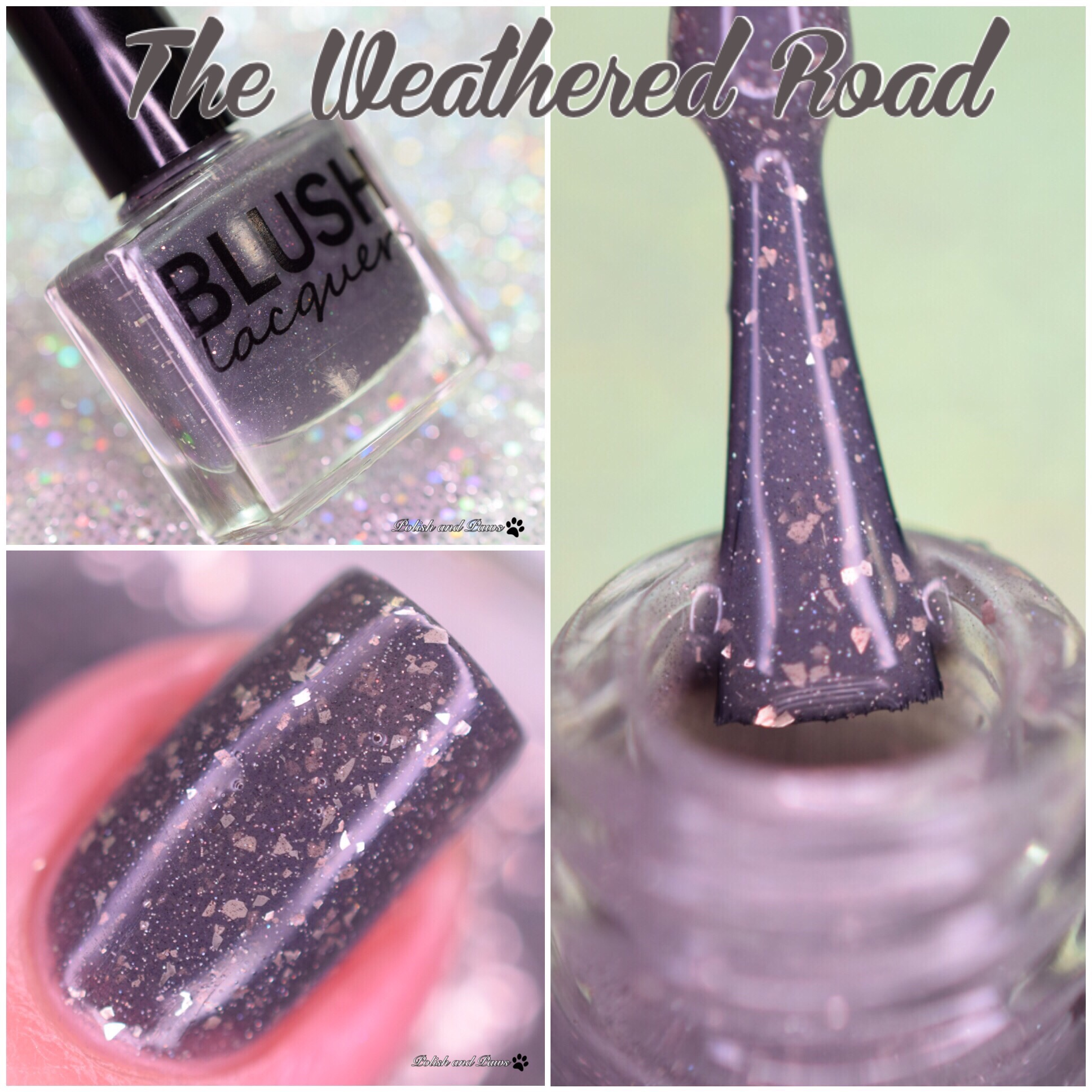 Blush Lacquers The Weathered Road