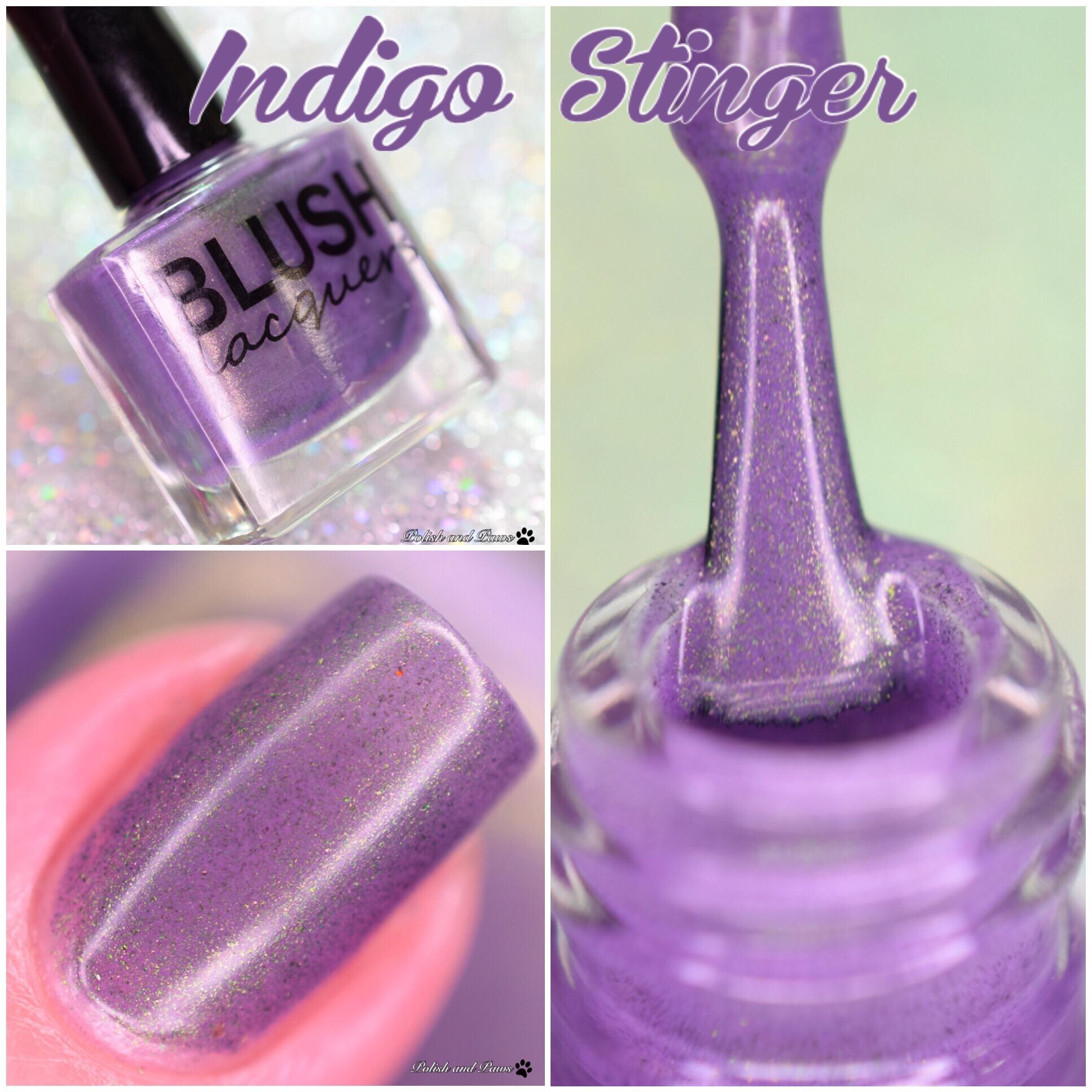 Blush Lacquers Indigo Stinger