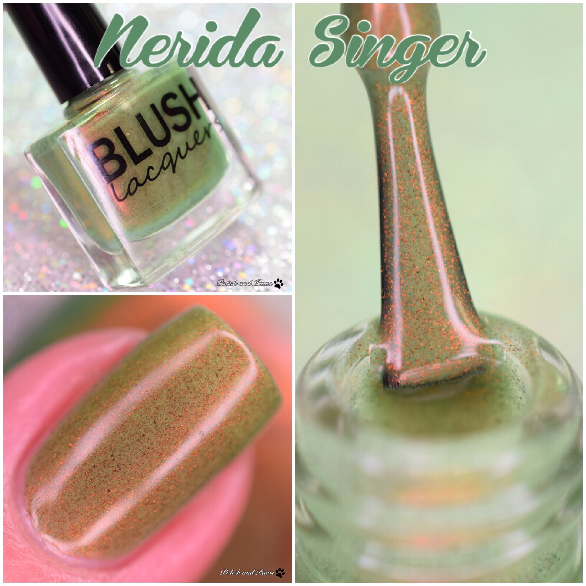 Blush Lacquers Nerida Singer