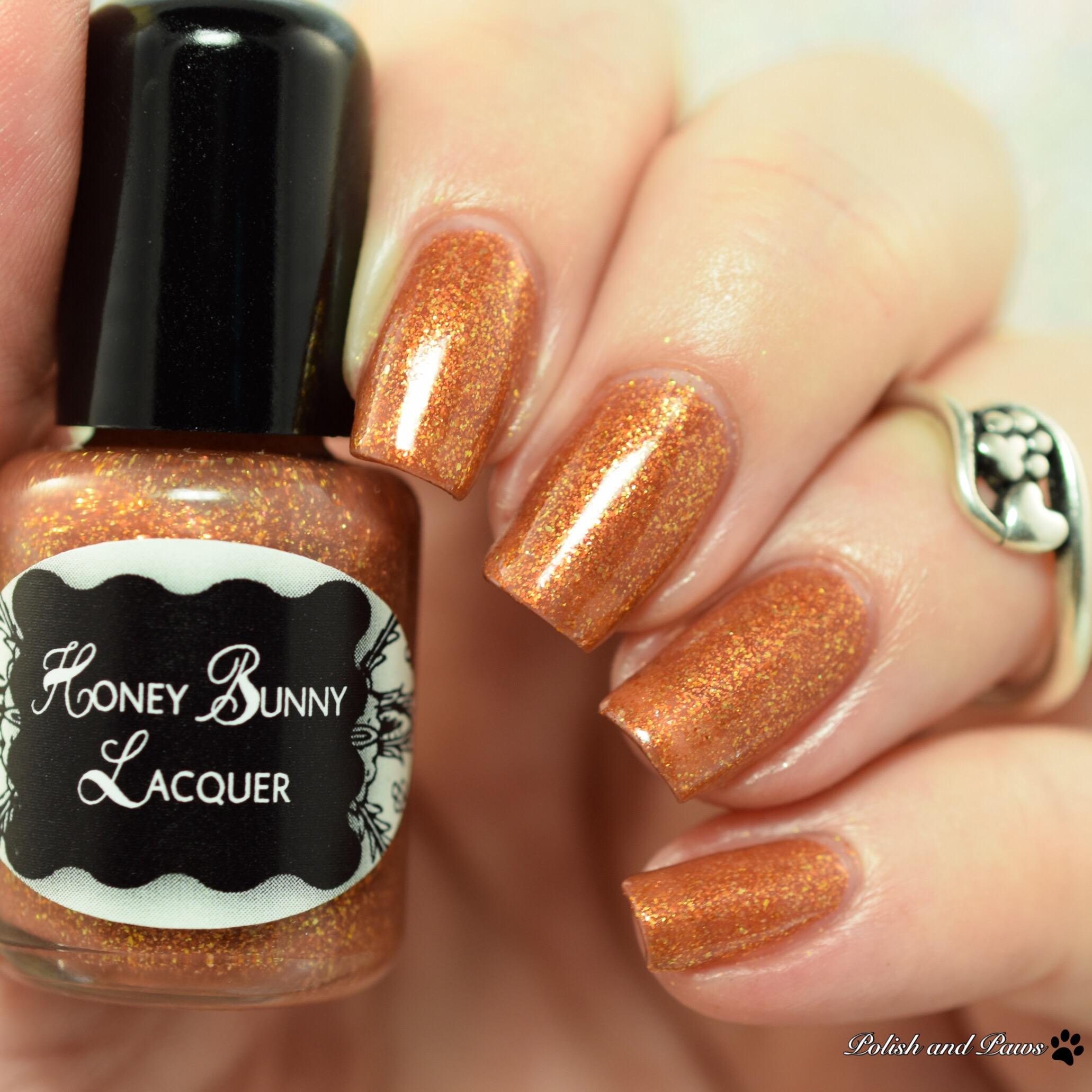 Honey Bunny Lacquer Indian Sunset