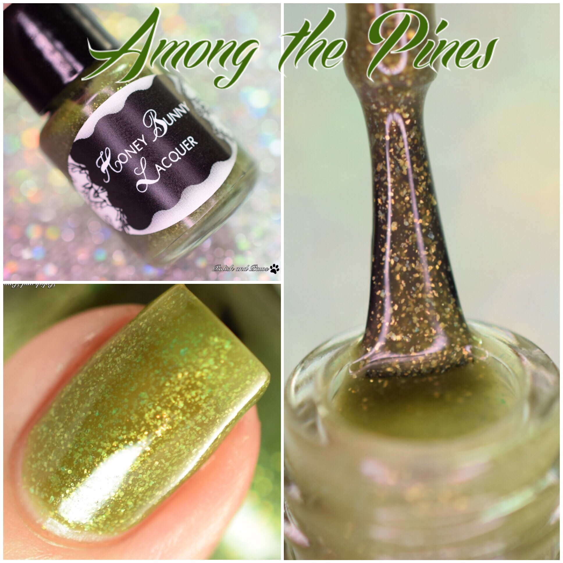 Honey Bunny Lacquer Among the Pines