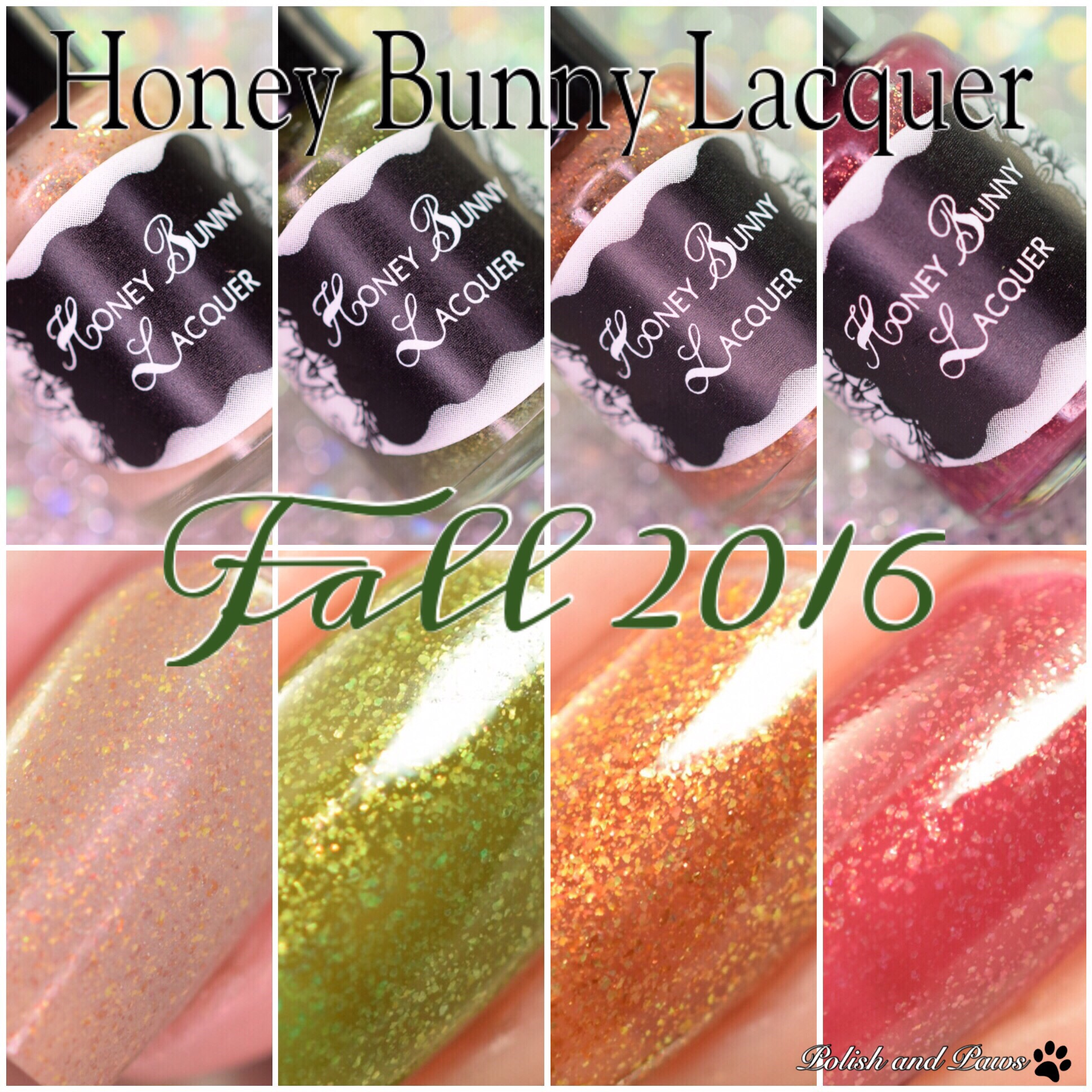 Honey Bunny Lacquer Fall 2016 collection