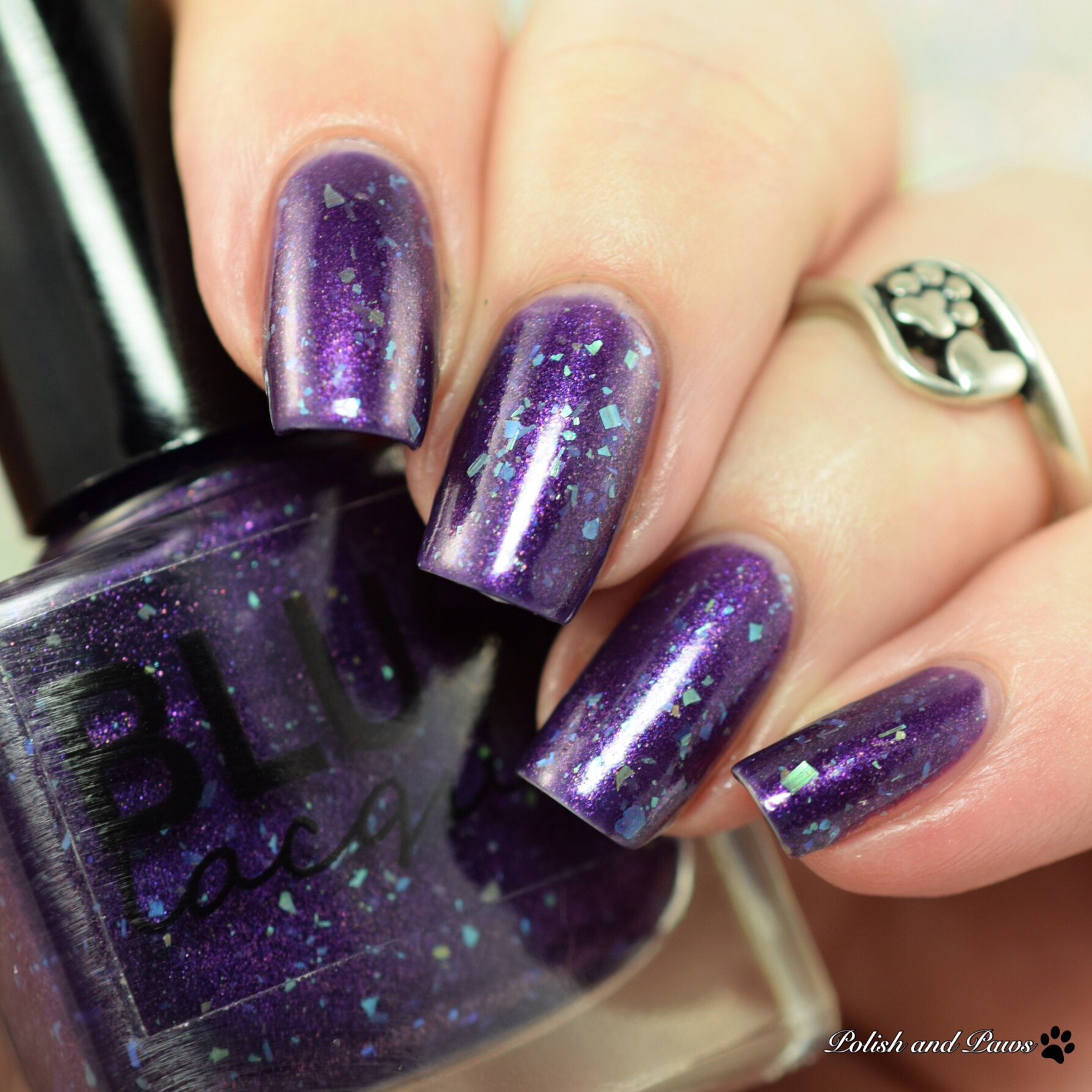 Blush Lacquers Aurora Borealis
