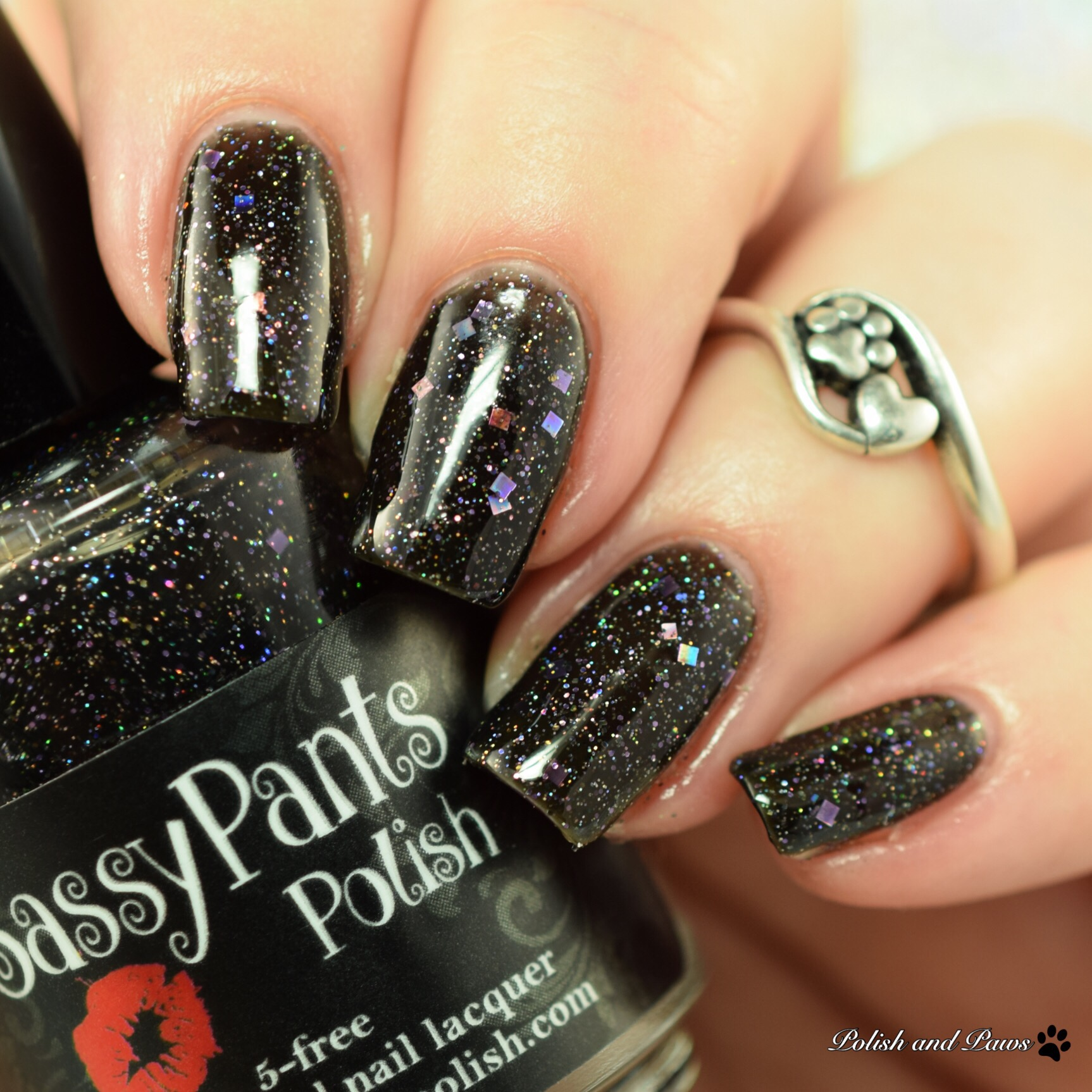 Sassy Pants Polish Black Widow