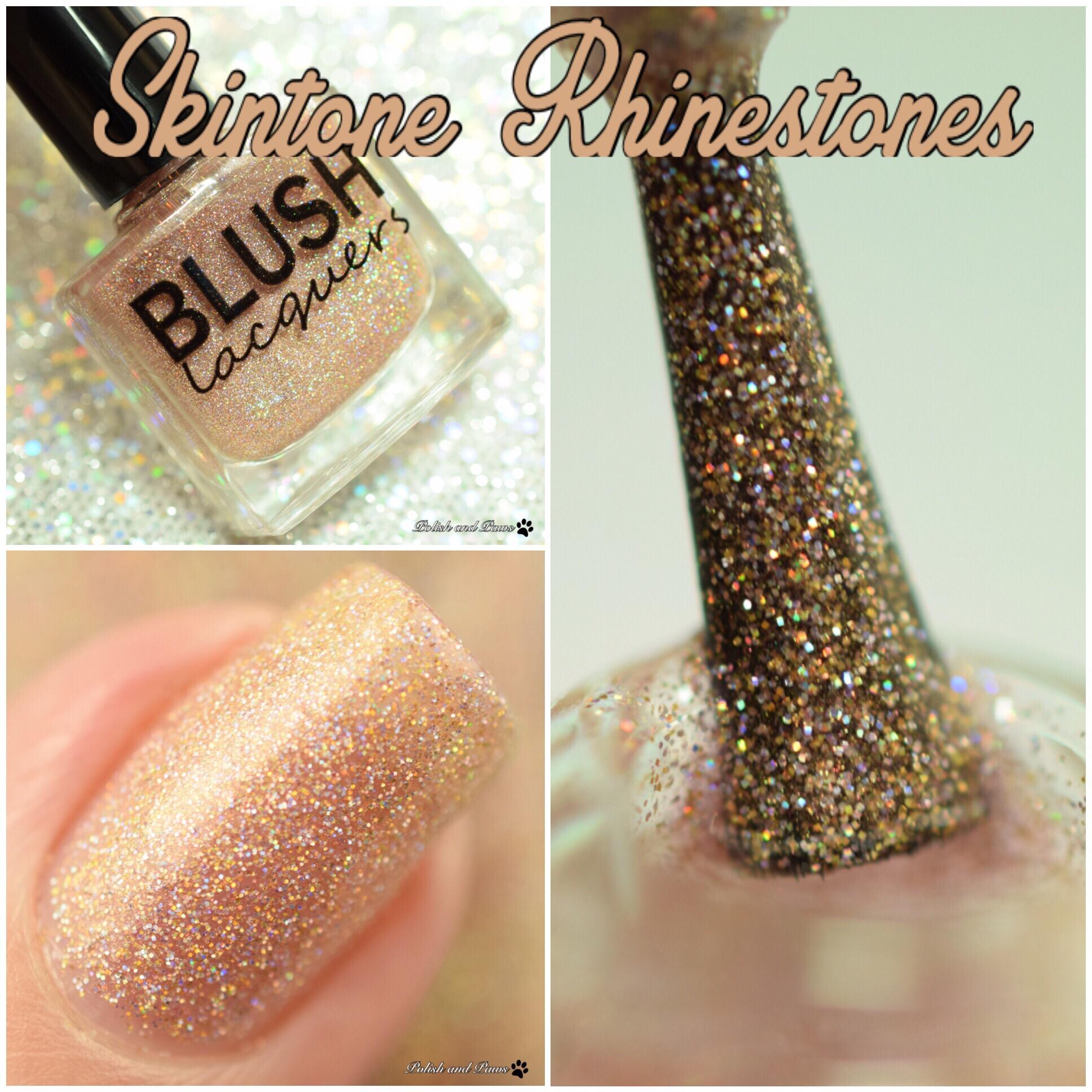Blush Lacquers Skintone Rhinestones